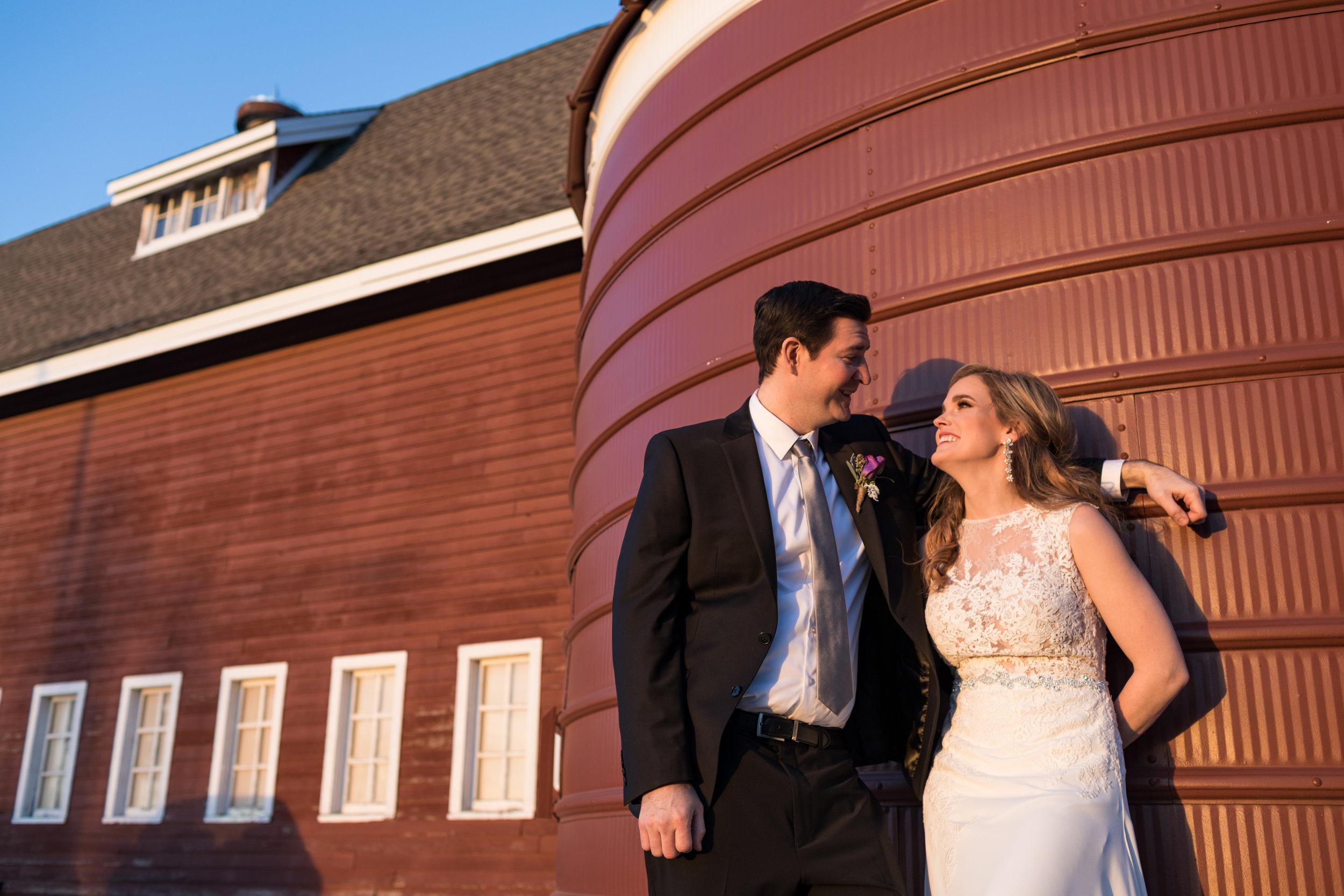 Katie + Phil - at the ackerhurst dairy barn