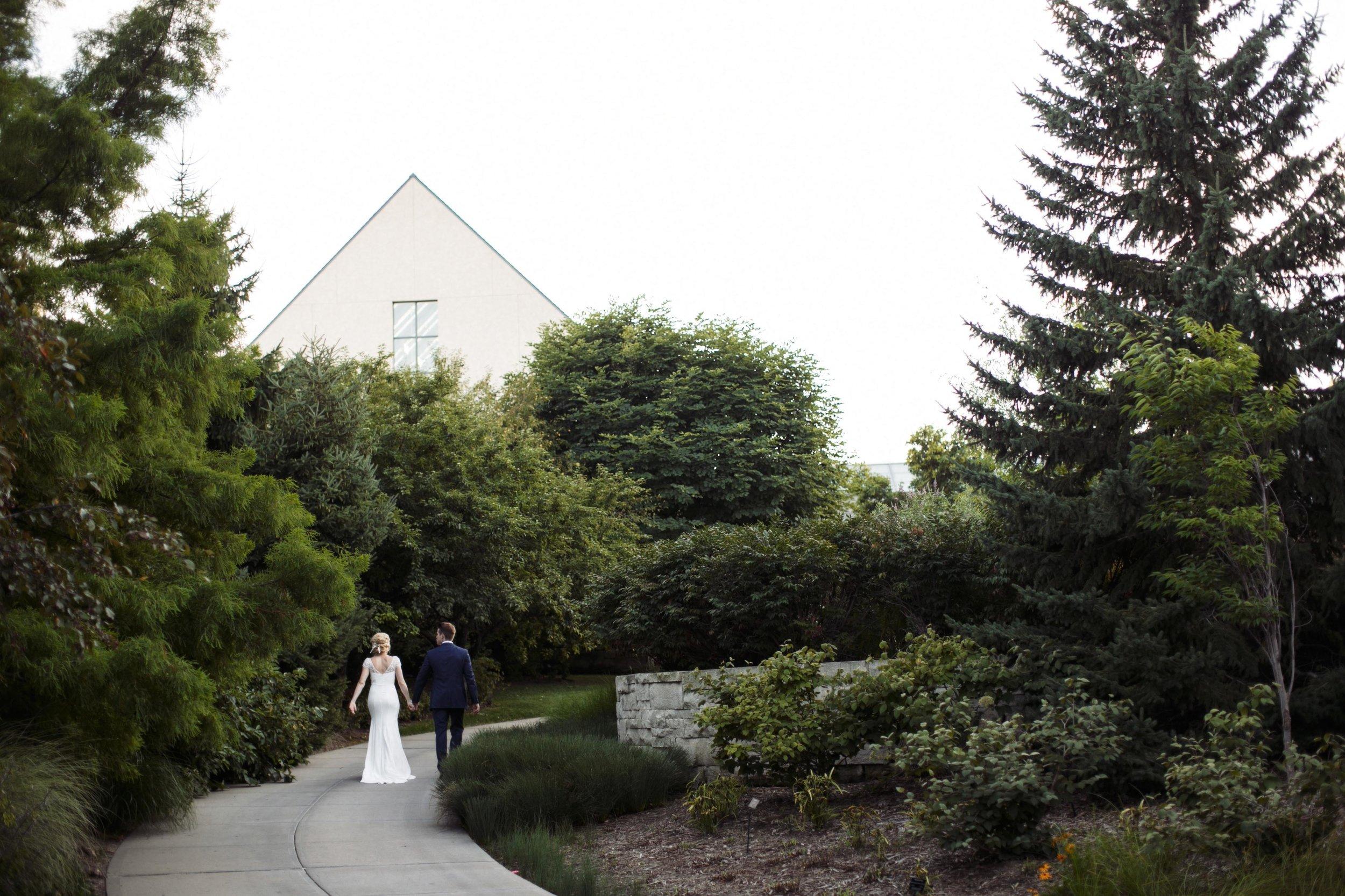 Brooke and Matt - A real lauritzen gardens omaha wedding