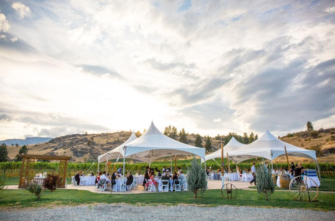 High Blossom Estate Wedding Tents