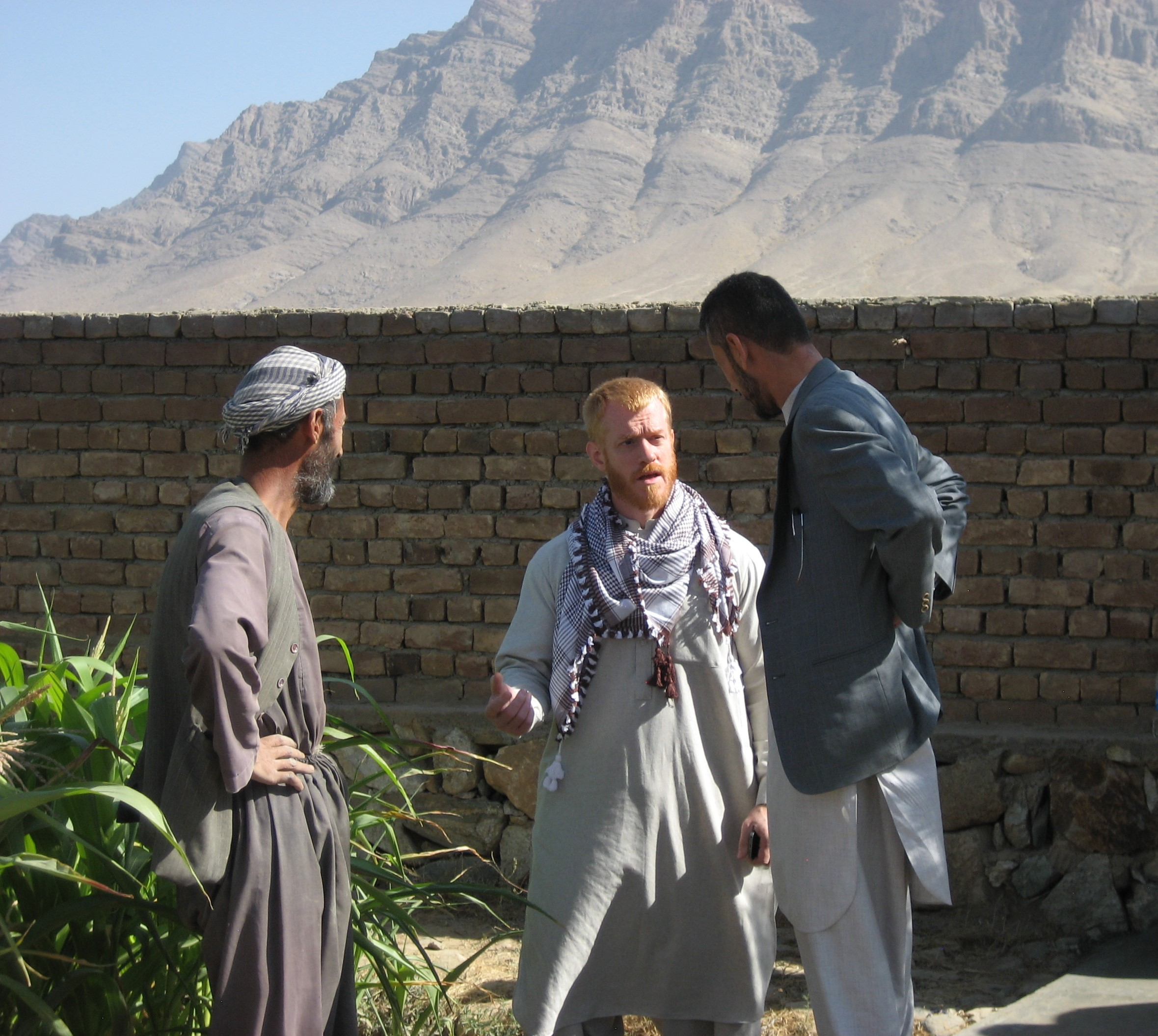 Brad Ricca, Sozo's Board Chair on recent trip to Afghanistan