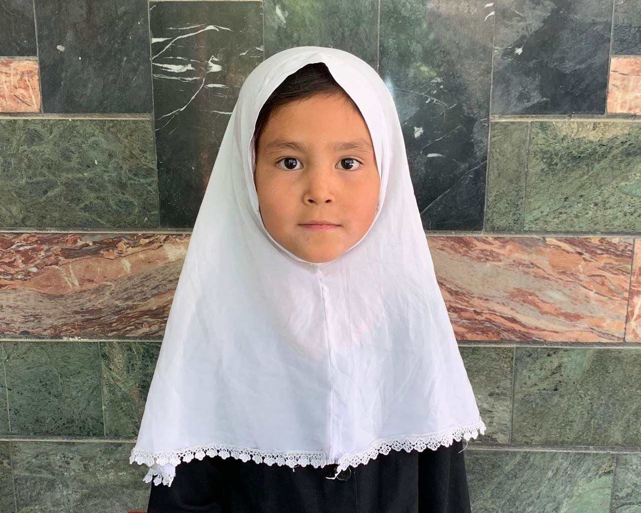 Zahra, Age 7 - Zahra has 5 siblings. Her mother and father are not employed at this time.BE ZAHRA'S PARTNER >