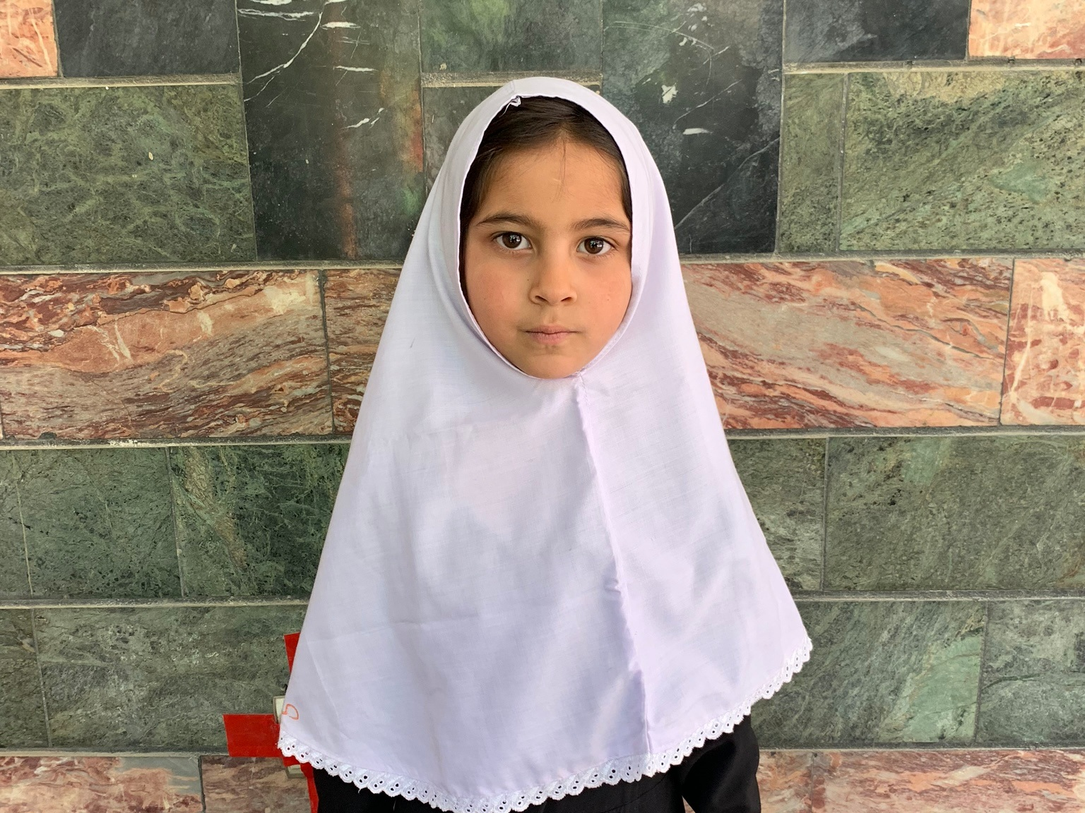 Yalda, Age 7 - Yalda has 3 siblings. Her mother and father are not employed at this time. Her father is taking a Sozo Training Class to become an electrician!BE YAIDA'S PARTNER >
