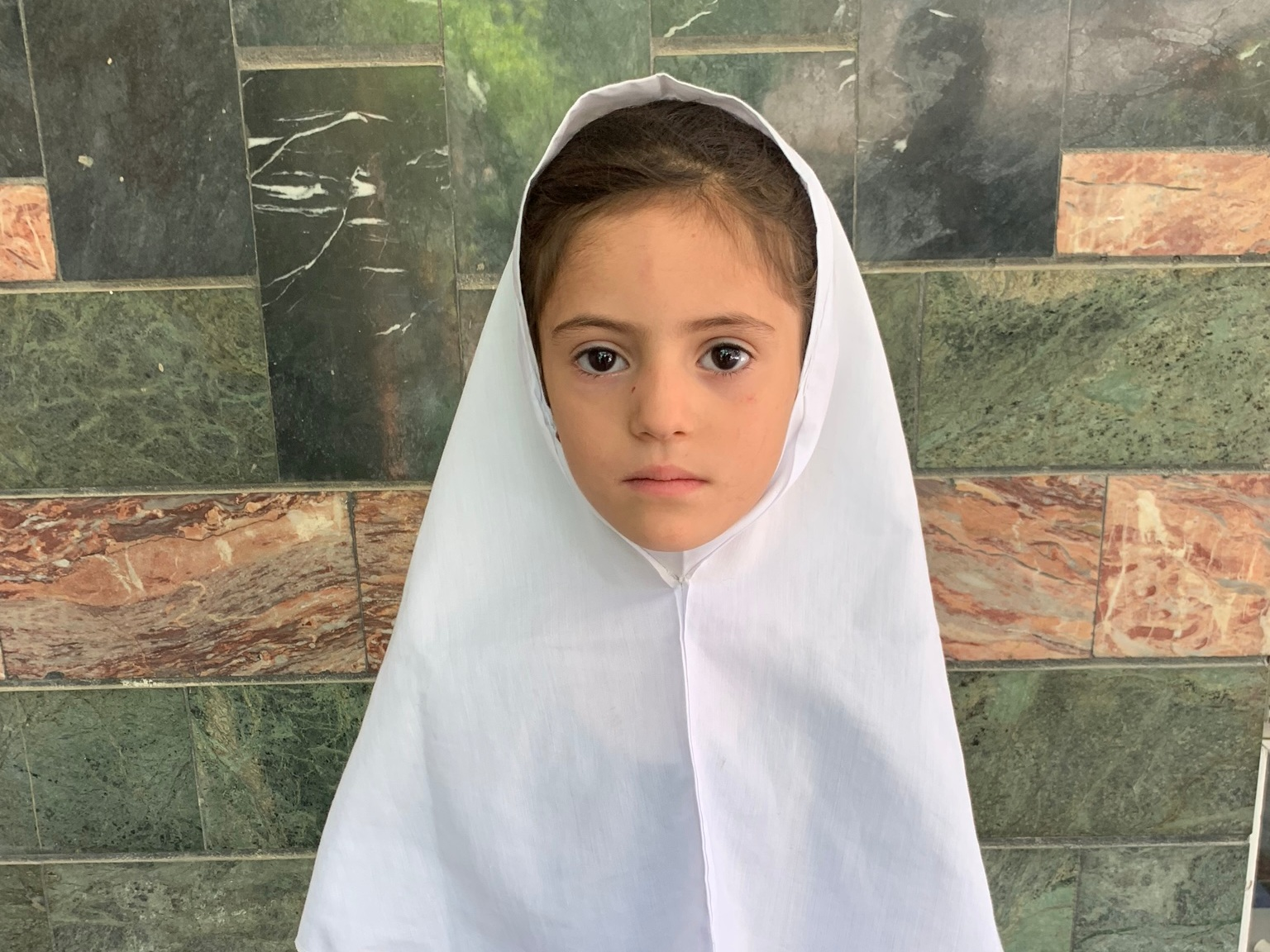 Sadaf, Age 8 - Sadaf has 2 siblings. Her mother is not employed at this time. Her father is a shop keeper.BE SADAF'S PARTNER >