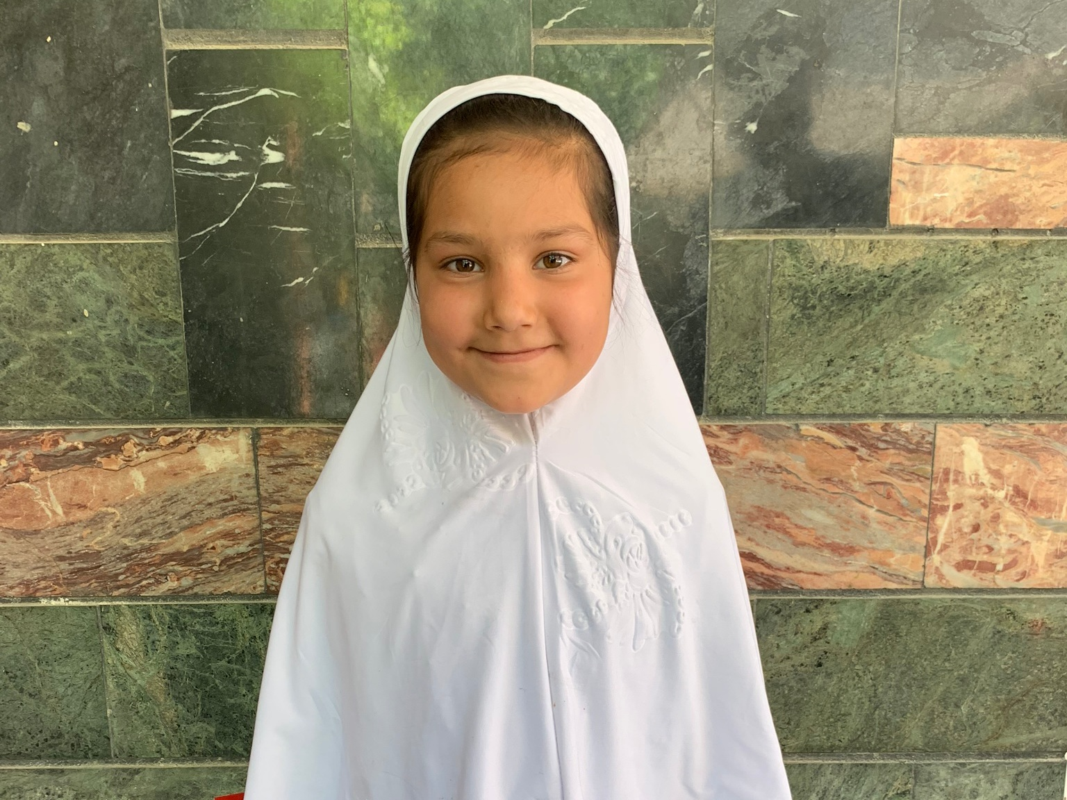 Asma, Age 7 - Asma has 5 siblings. Her mother is not employed at this time. Her father sells vegetables.BE ASMA'S PARTNER >