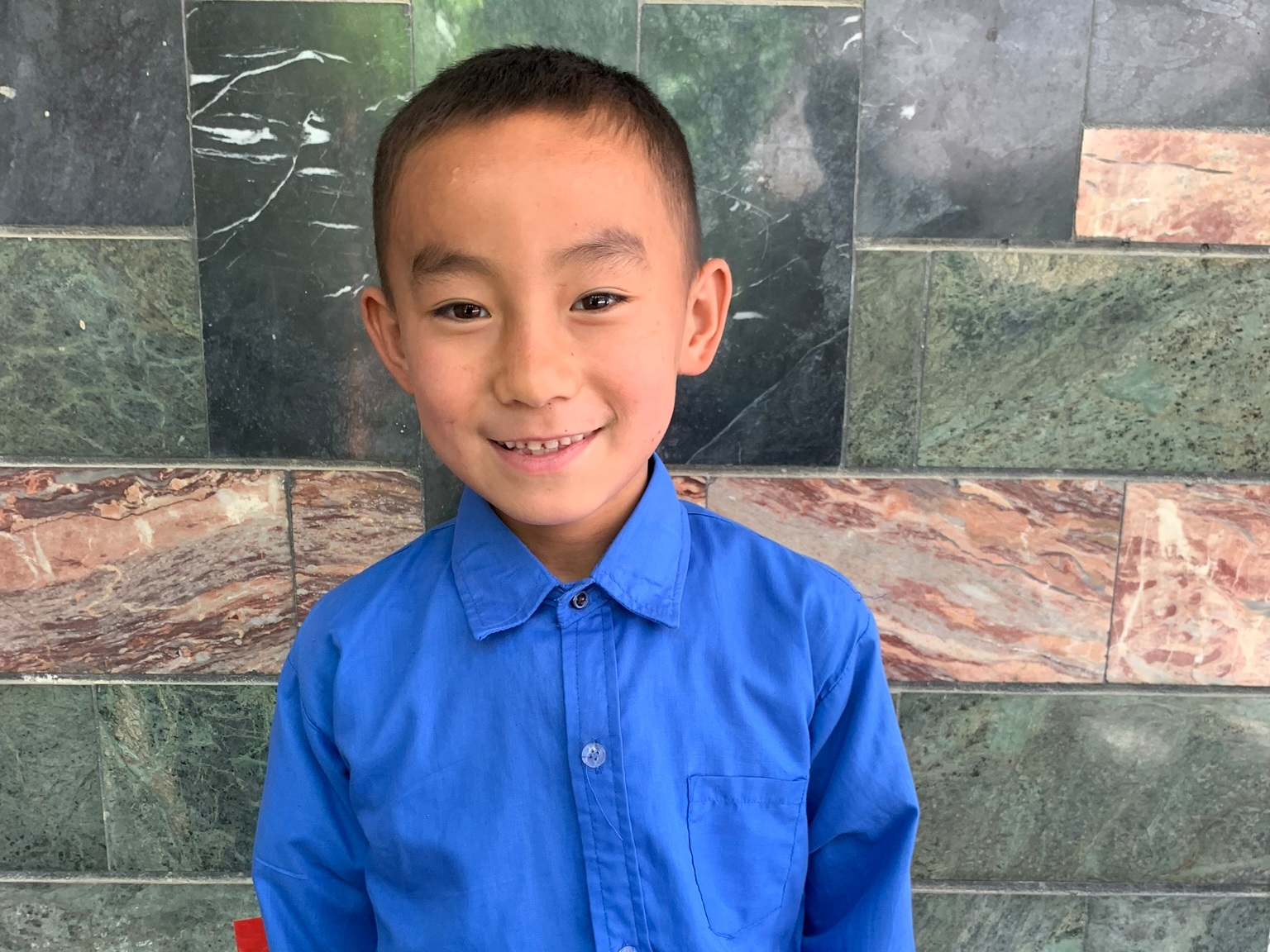 Mirwis, Age 8 - Mirwis has 4 siblings. His mother and father have both died.BE MIRWIS'S PARTNER>
