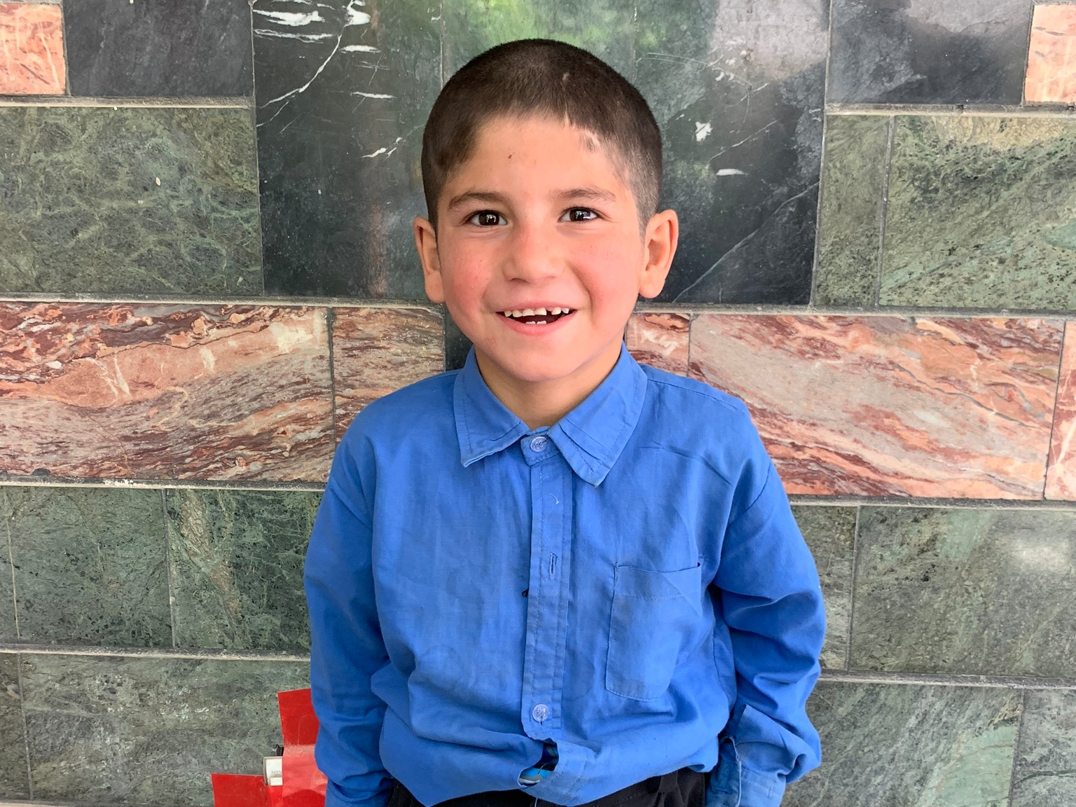Murtaza, Age 7 - Murtaza has 6 siblings. His mother and father are both unemployed.BE MURTAZA'S PARTNER >