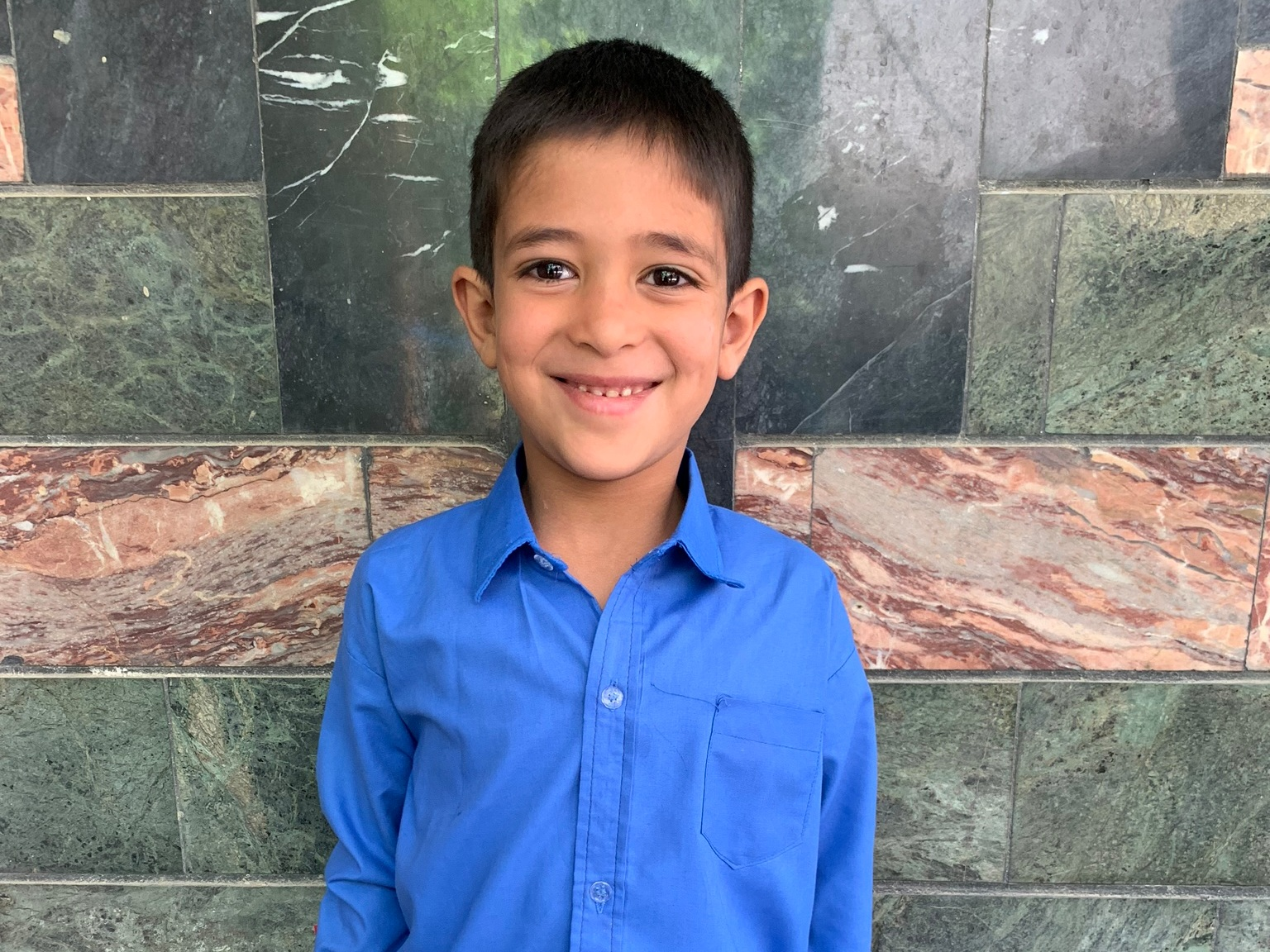 Saliman, Age 8 - Saliman has one sibling. His mother is currently unemployed. His father is a cook.BE SALIMAN'S PARTNER >