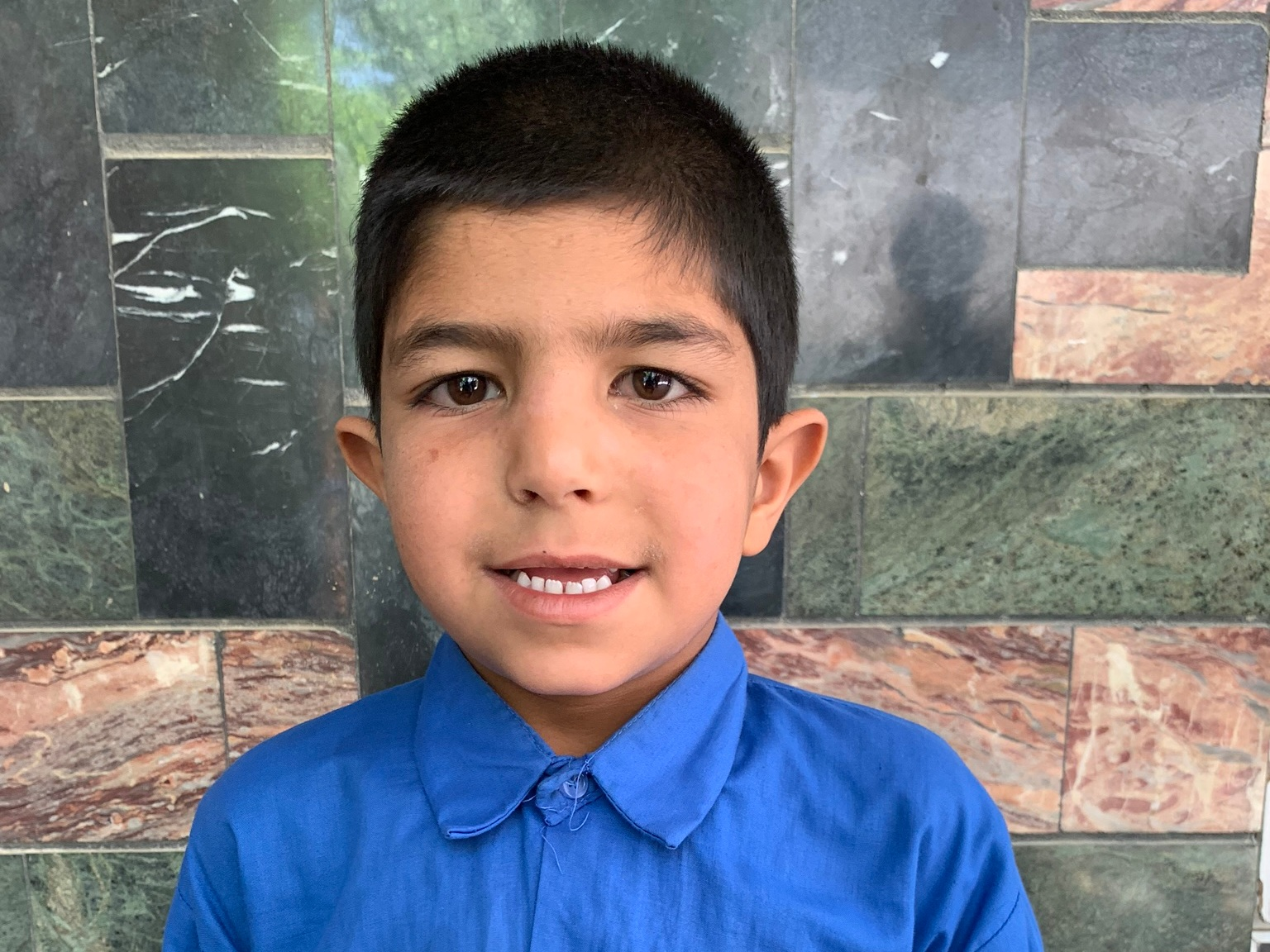 Sobir, Age 7 - Sobir has three siblings. His mother is currently unemployed. His father is a Mechanic.BE SOBIR'S PARTNER >