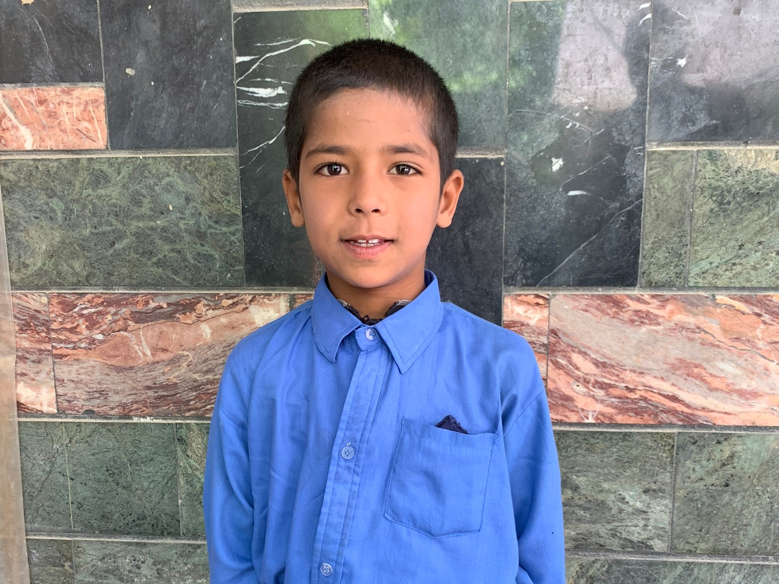 Matheila, Age 7 - Matheila has 3 siblings. His mother is currently unemployed. His father works construction.BE MATHEILA'S PARTNER >