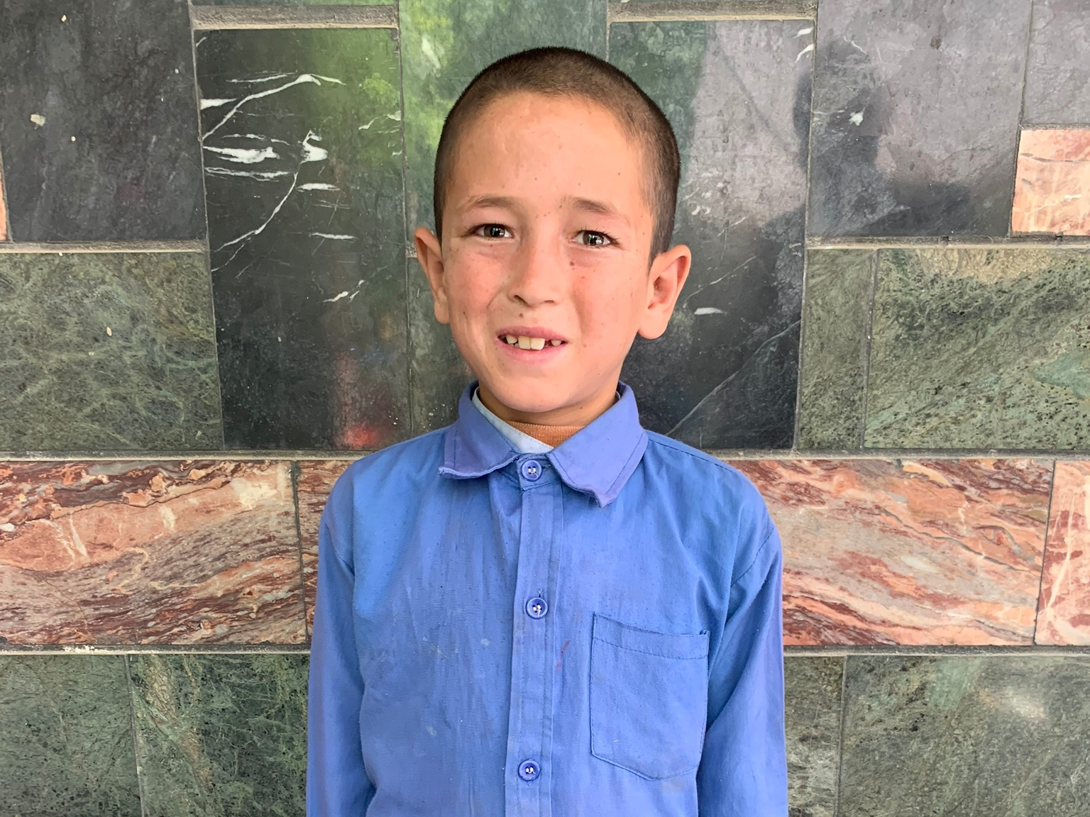 Naweed, Age 8 - Naweed has 10 siblings. His parents are both unemployed at this time.BE NAWEED'S PARTNER >