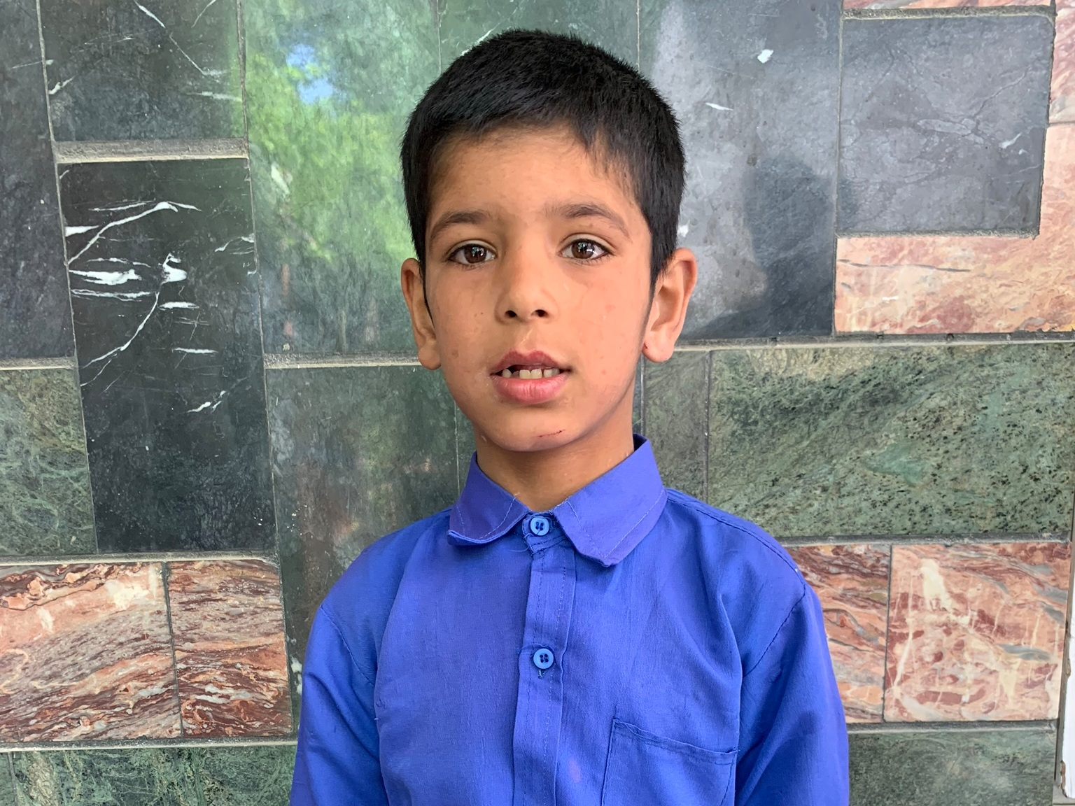 Ali Waisal, Age 7 - Ali Waisal has 1 sibling. His mother is currently unemployed. His father is a pharmacist.BE ALI WAISAL'S PARTNER >