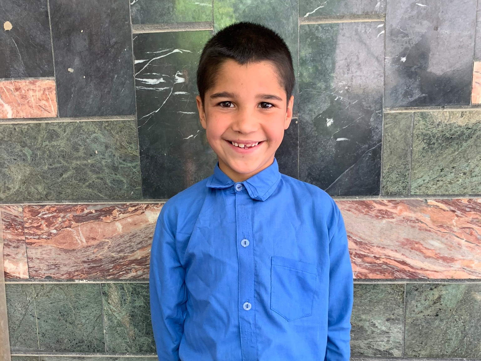 Mohammad Hamid, Age 8 - Mohammad Hamid has 4 siblings. His mother is currently unemployed. His father is a driver.BE MOHAMMAD HAMID'S PARTNER >