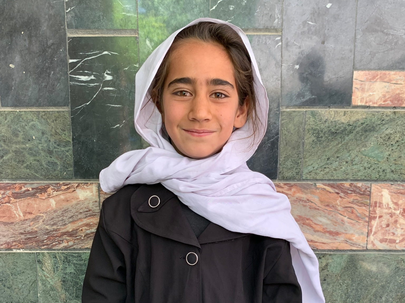 Hozra, Age 8 - Hozra has 9 siblings. Her mother does not have work at this time. Her father is a delivery man.BE HOZRA'S PARTNER>