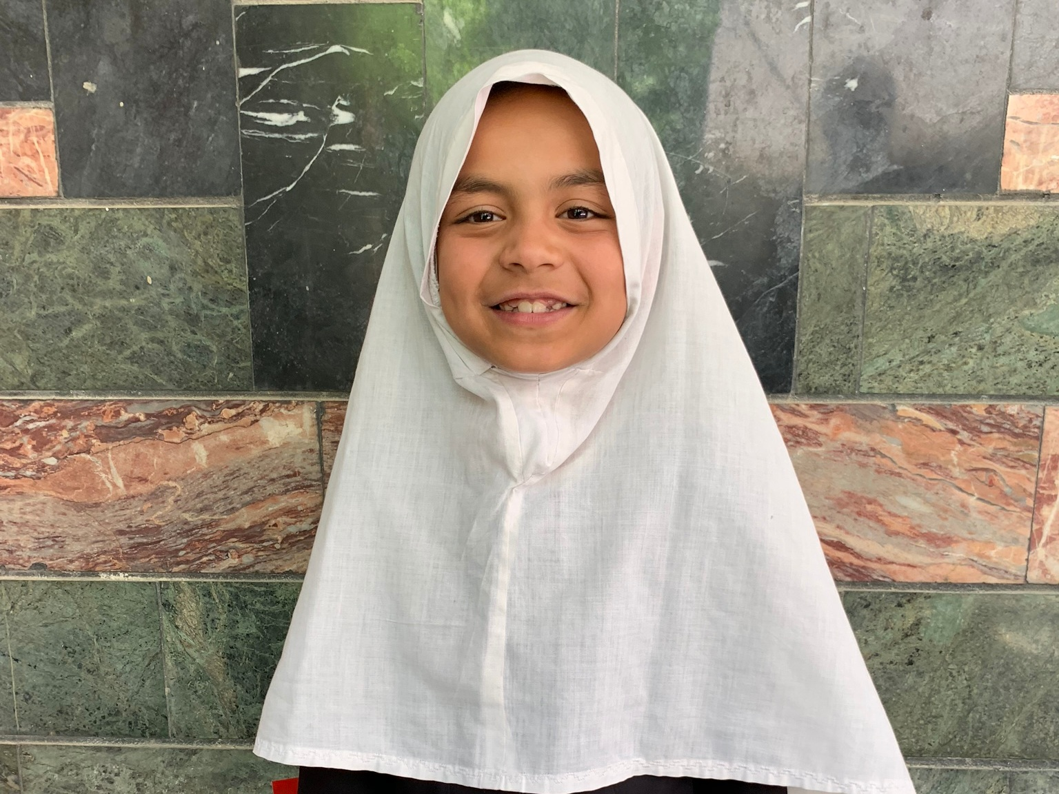 Fatima C., Age 8 - Fatima has 5 siblings. Her mother and father are both unemployed.BE FATIMA C'S PARTNER>