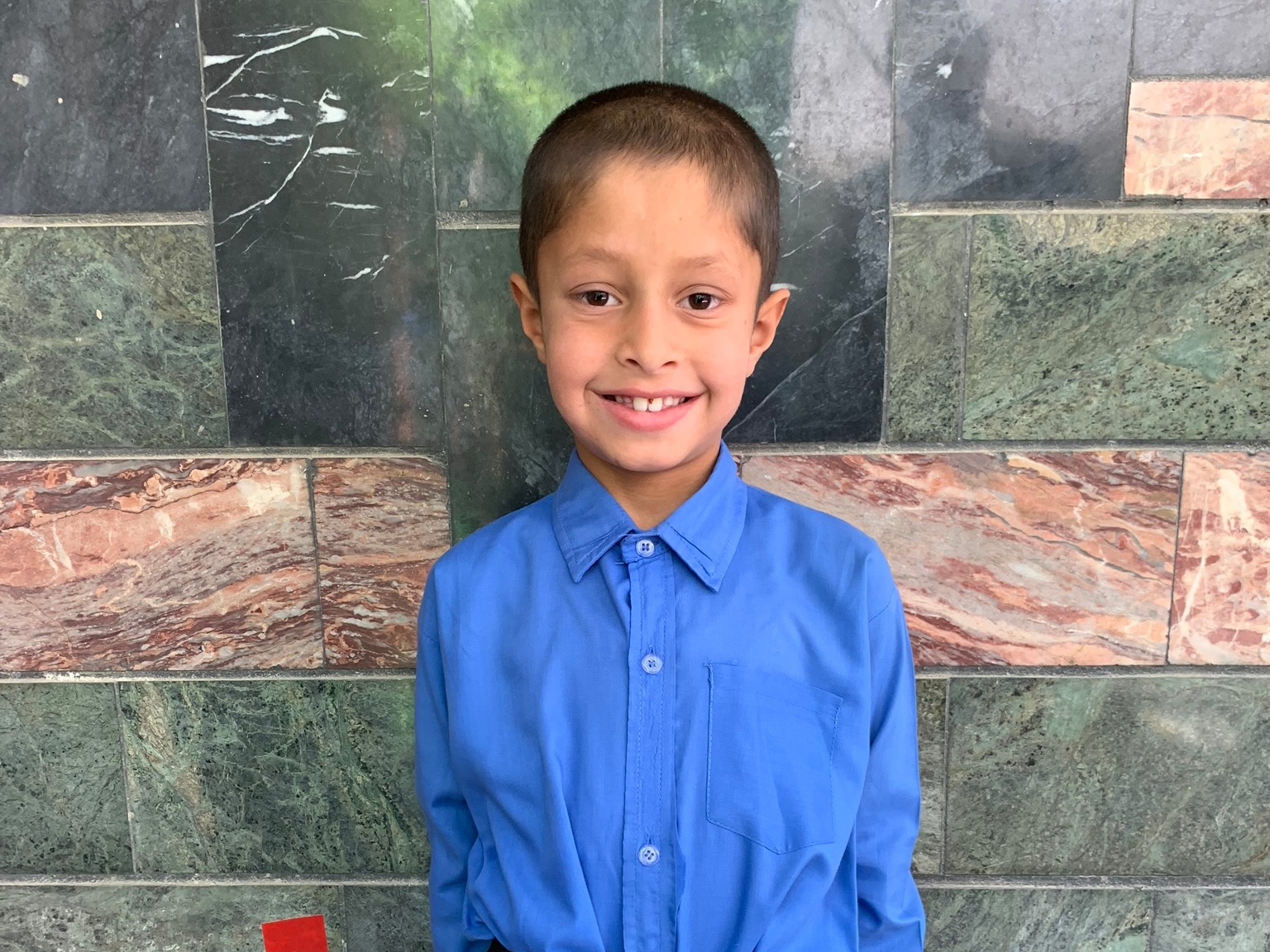 Arash, Age 8 - Arash has 2 siblings. His mothe and fatherr are without work at this time.BE ARASH'S PARTNER>