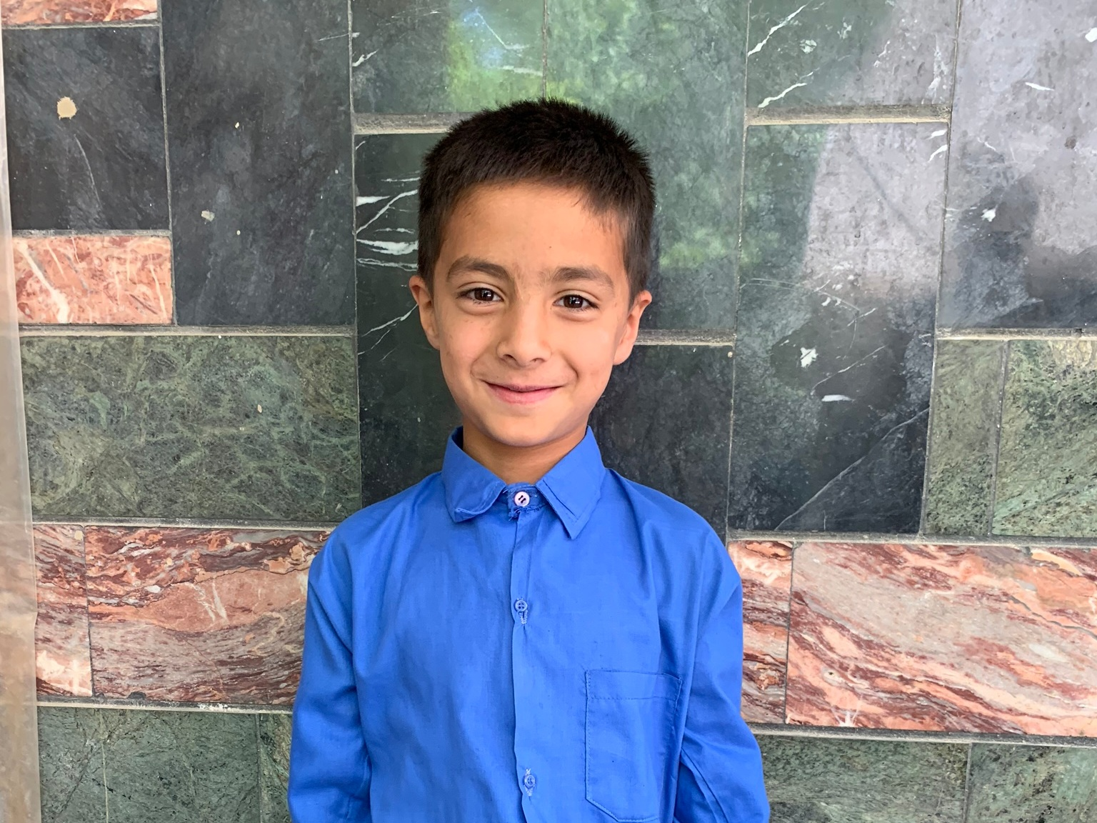 Ali Akbar, Age 8 - Ali Akbar has 4 siblings. His mother does not have work at this time. His father is a driver.BE ALI AKBAR'S PARTNER>