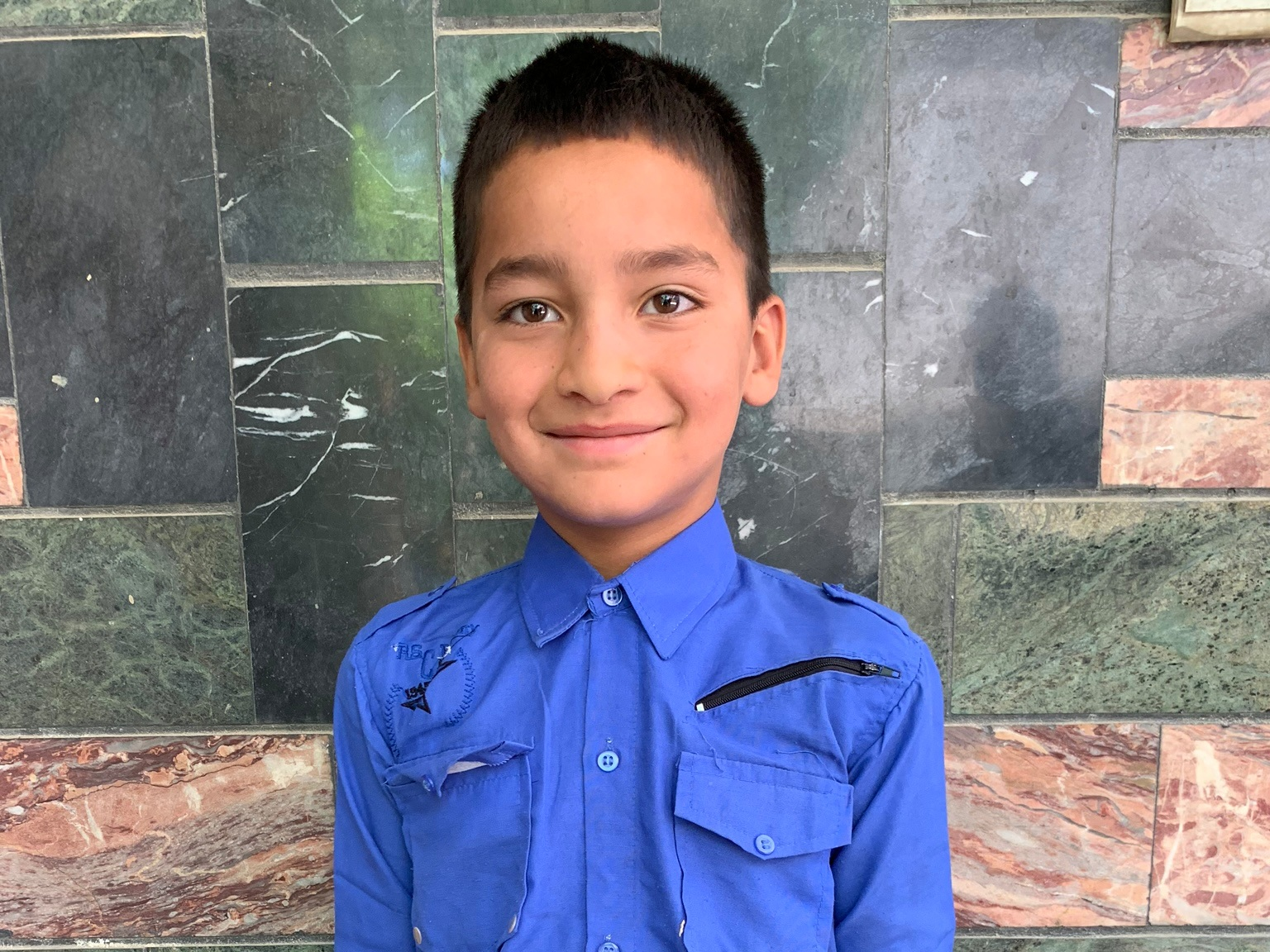 Zaki, Age 7 - Zaki has 5 siblings. His mother is unemployed. His father is a cook.BE ZAKI'S PARTNER>