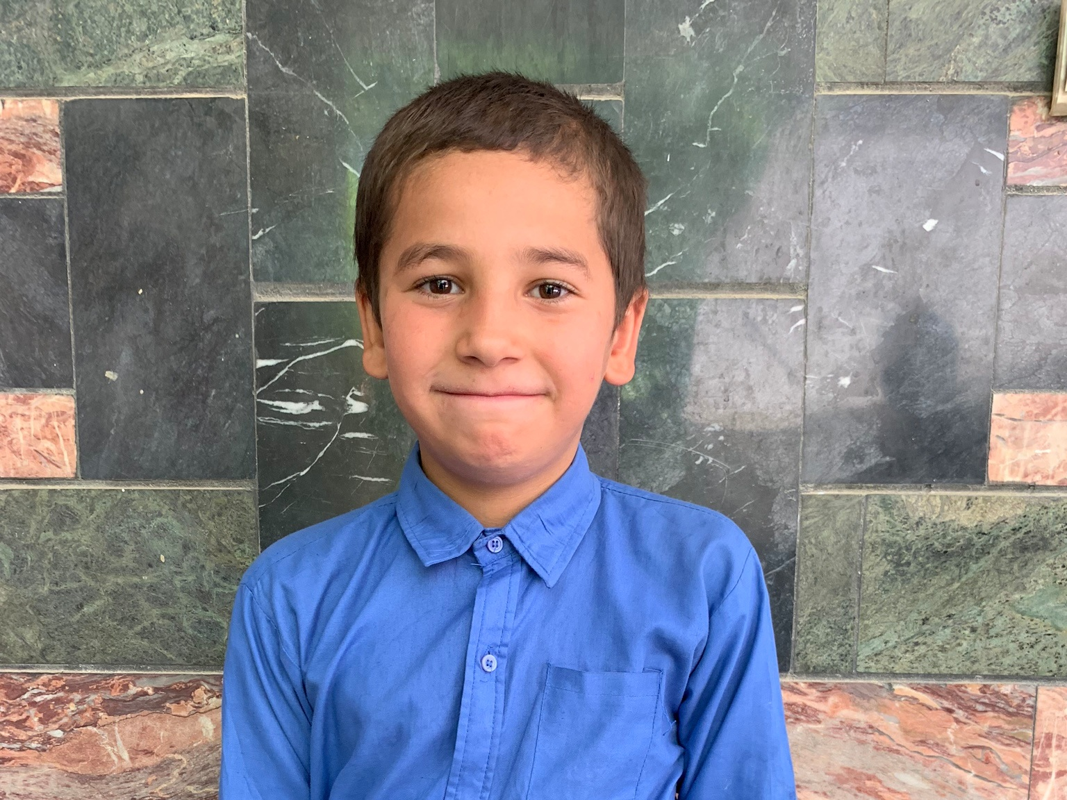 Waheedulah, Age 10 - Waheedulah has 4 siblings. His mother and father are both unemployed at this time.BE WAHEEDULAH'S PARTNER>
