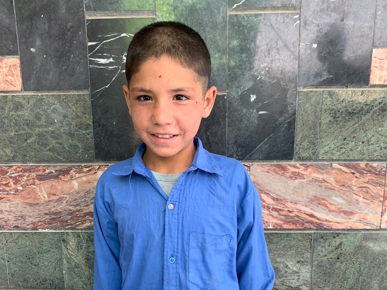 Mustafa, Age 9 - Mustafa has 6 siblings. His mother does not have work at this time. His father is a cook.BE MUSTAFA'S PARTNER>