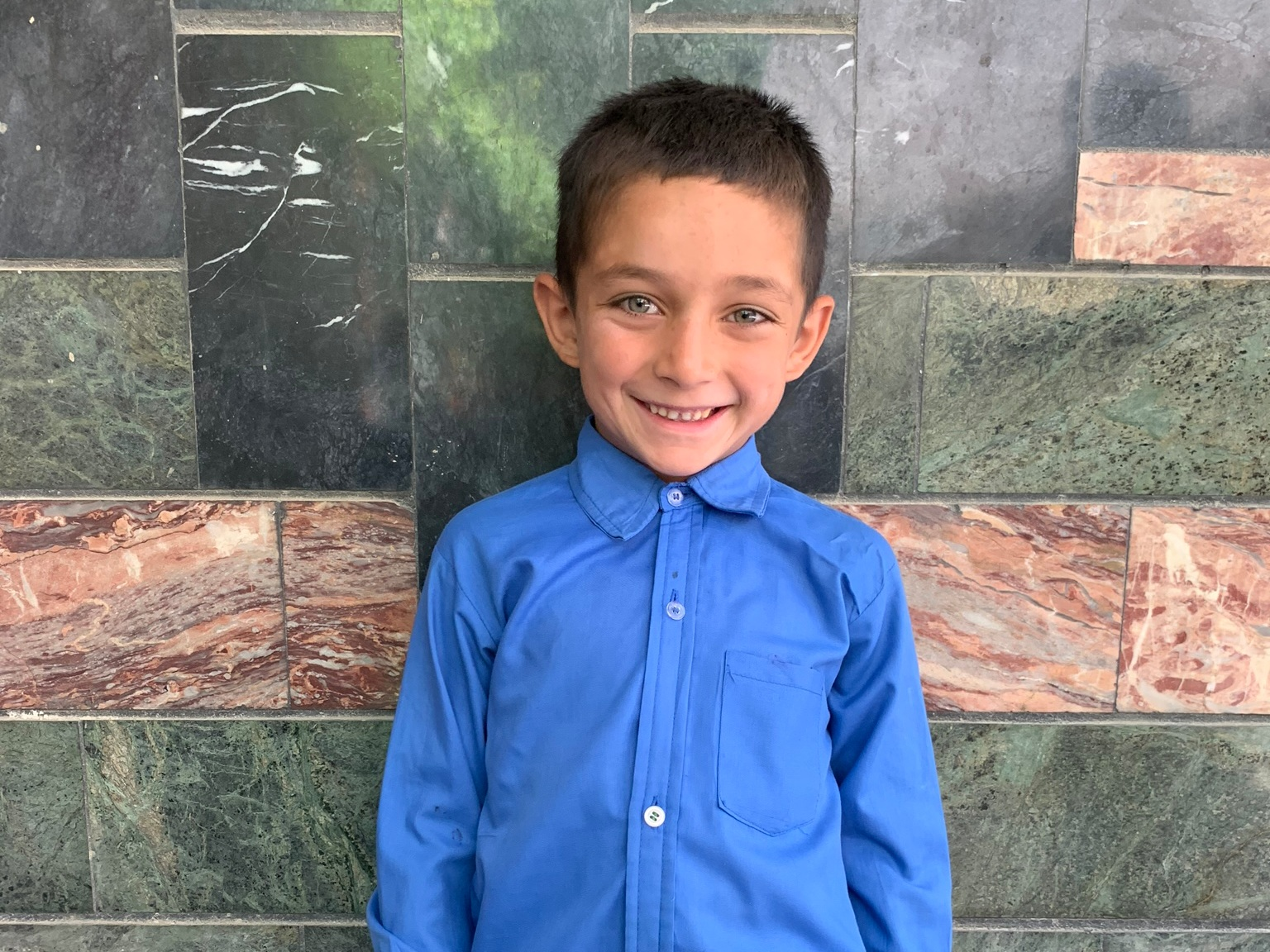 Mohammad, Age 8 - Mohammad has 5 siblings. His mother and father have both died.BE MOHAMMAD'S PARTNER>