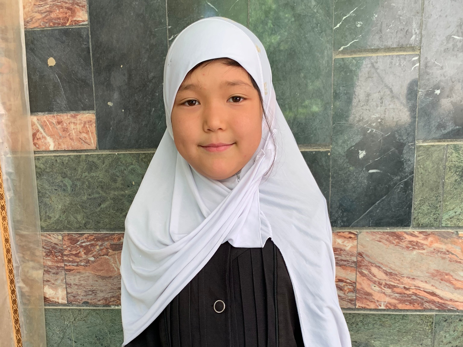 Mariam, Age 7 - Mariam has 1 sibling. Her mother does not have work at this time. Her father is a shopkeeper.BE MARIAM'S PARTNER>