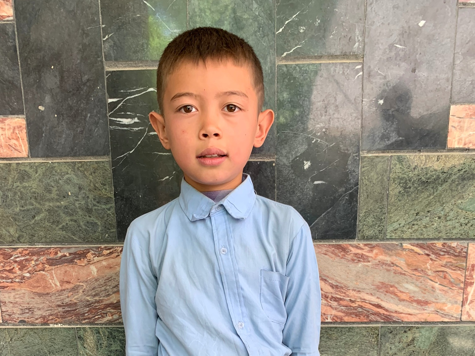 Murtizah, Age 8 - Murtizah has 4 siblings. His mother is unemployed. His father works in construction.BE MURTIZAH'S PARTNER>