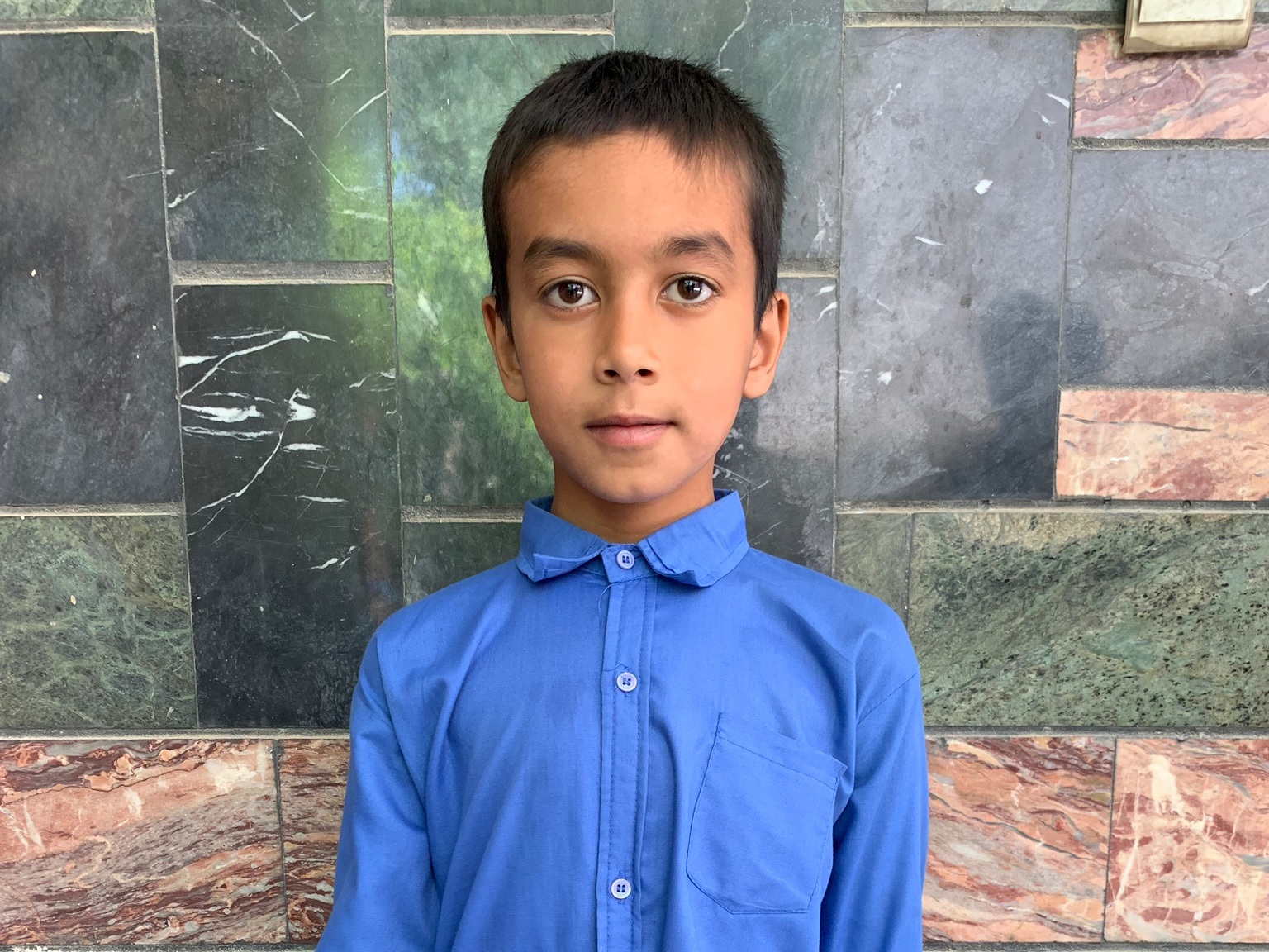 Belal, Age 8 - Belal has 3 siblings. His mother is unemployed at this time. His father is a painter.BE BELAL'S PARTNER>