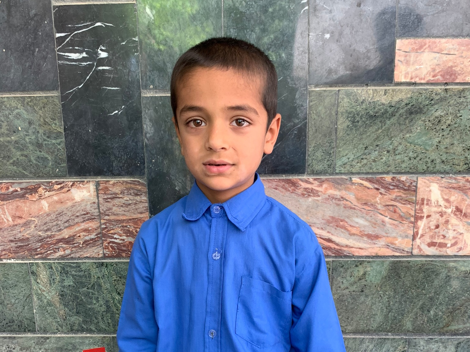 Omar, Age 8 - Omar has 4 siblings. His mother has is unemployed. His father is a day laborer.BE OMAR'S PARTNER>