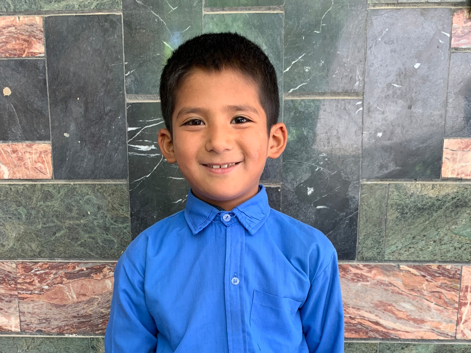 Ali Riza, Age 8 - Ali Riza has 3 siblings. His mother does not have work at this time. His father is a shopkeeper.BE ALI RIZA'S PARTNER>