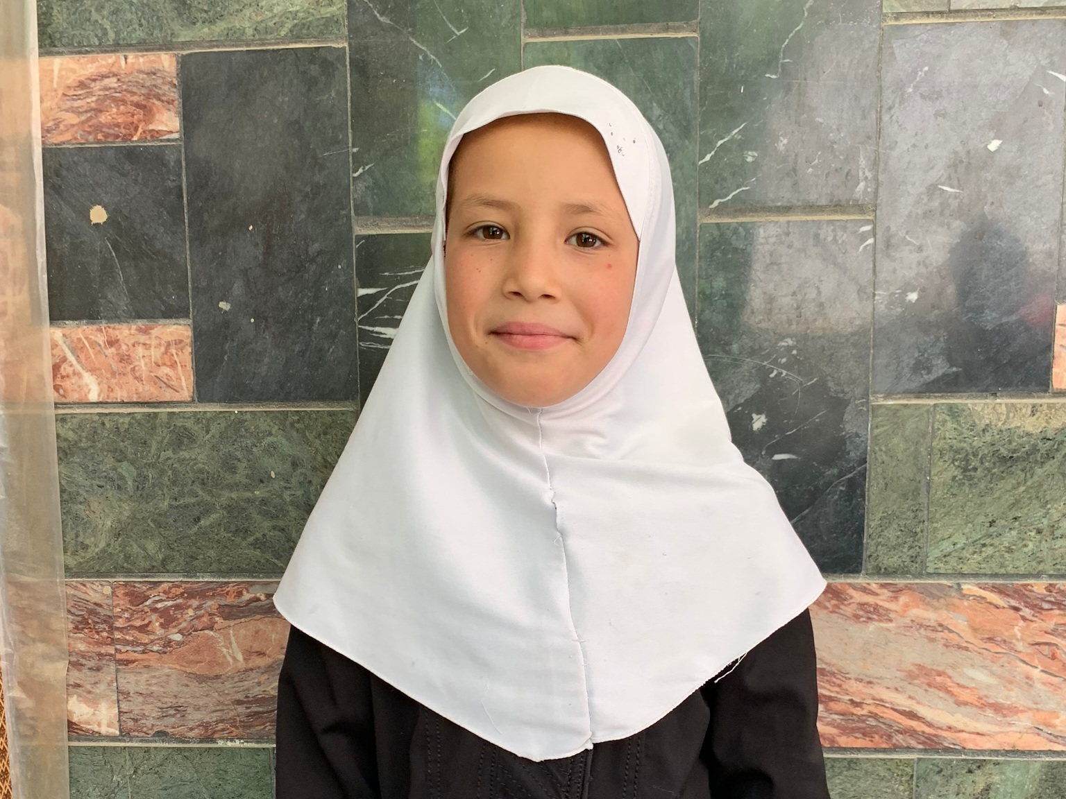 Raqhada, Age 9 - Raqhada has 2 siblings. Her mother is unemployed. Her father has died.BE RAQHADA'S PARTNER>