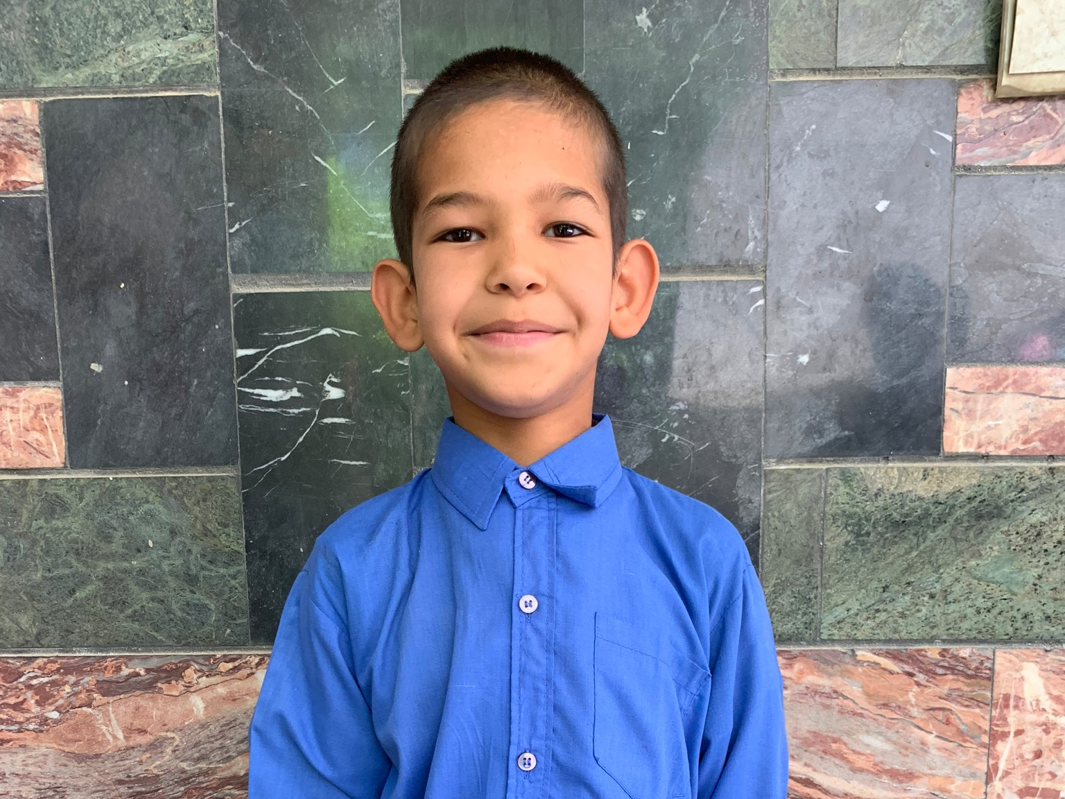 Nimat, Age 9 - Nimat has 4 siblings. His mother is unemployed and his father is disabled.BE NIMAT'S PARTNER>