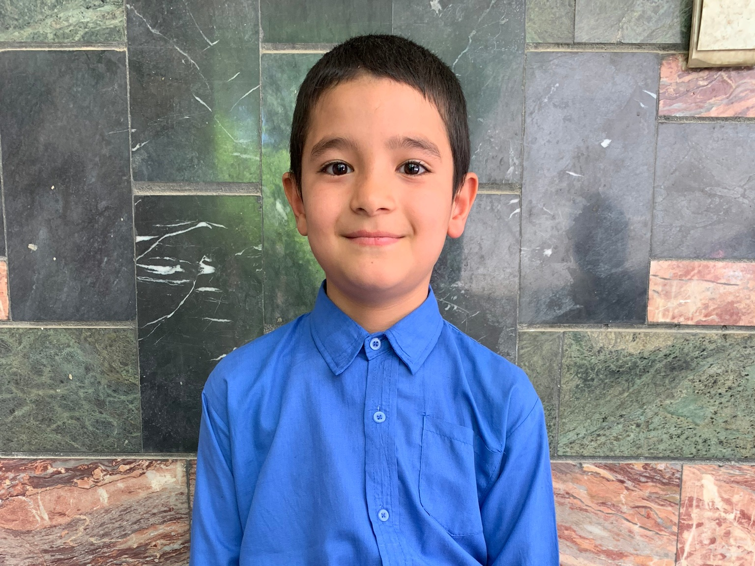 Zaide, Age 9 - Zaide has 4 siblings. His mother does not have work at this time. His father is a driver.BE ZAIDE'S PARTNER>