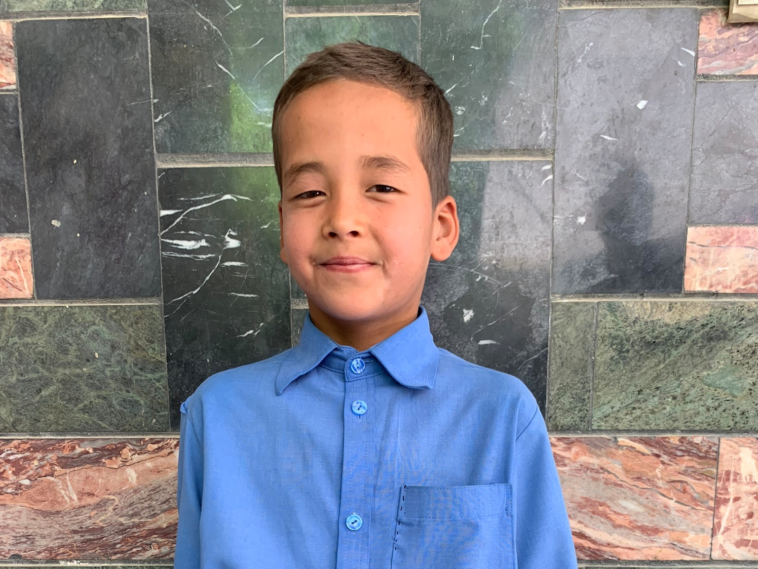 Ali Reza, Age 9 - Ali Reza has 5 siblings. He mother is unemployed and his father is a cook.BE ALI REZA'S PARTNER>