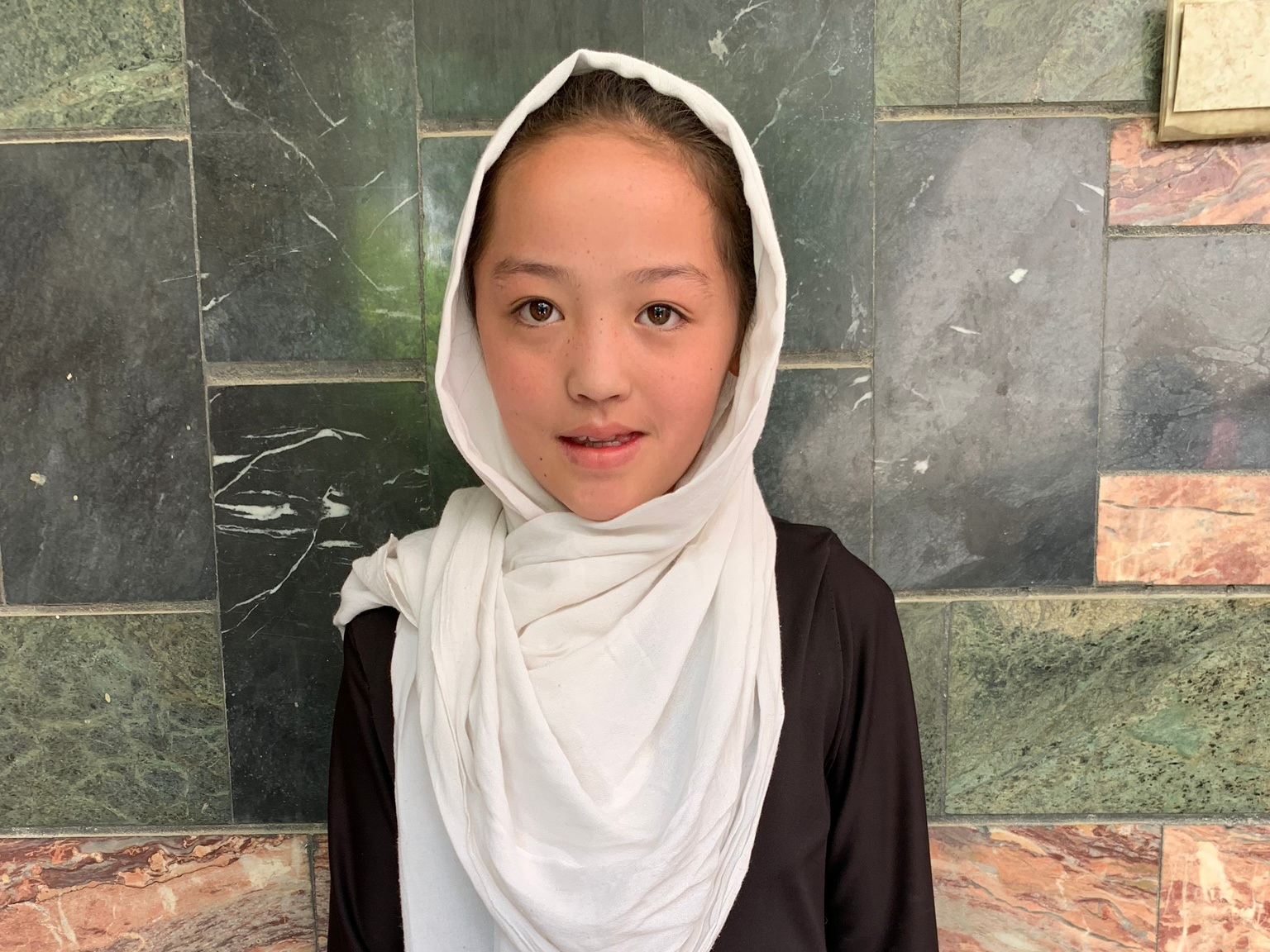 Fatima G., Age 10 - Fatima has 4 siblings. Her mother is unemployed and her father is a day laborer.BE FATIMA G'S PARTNER>