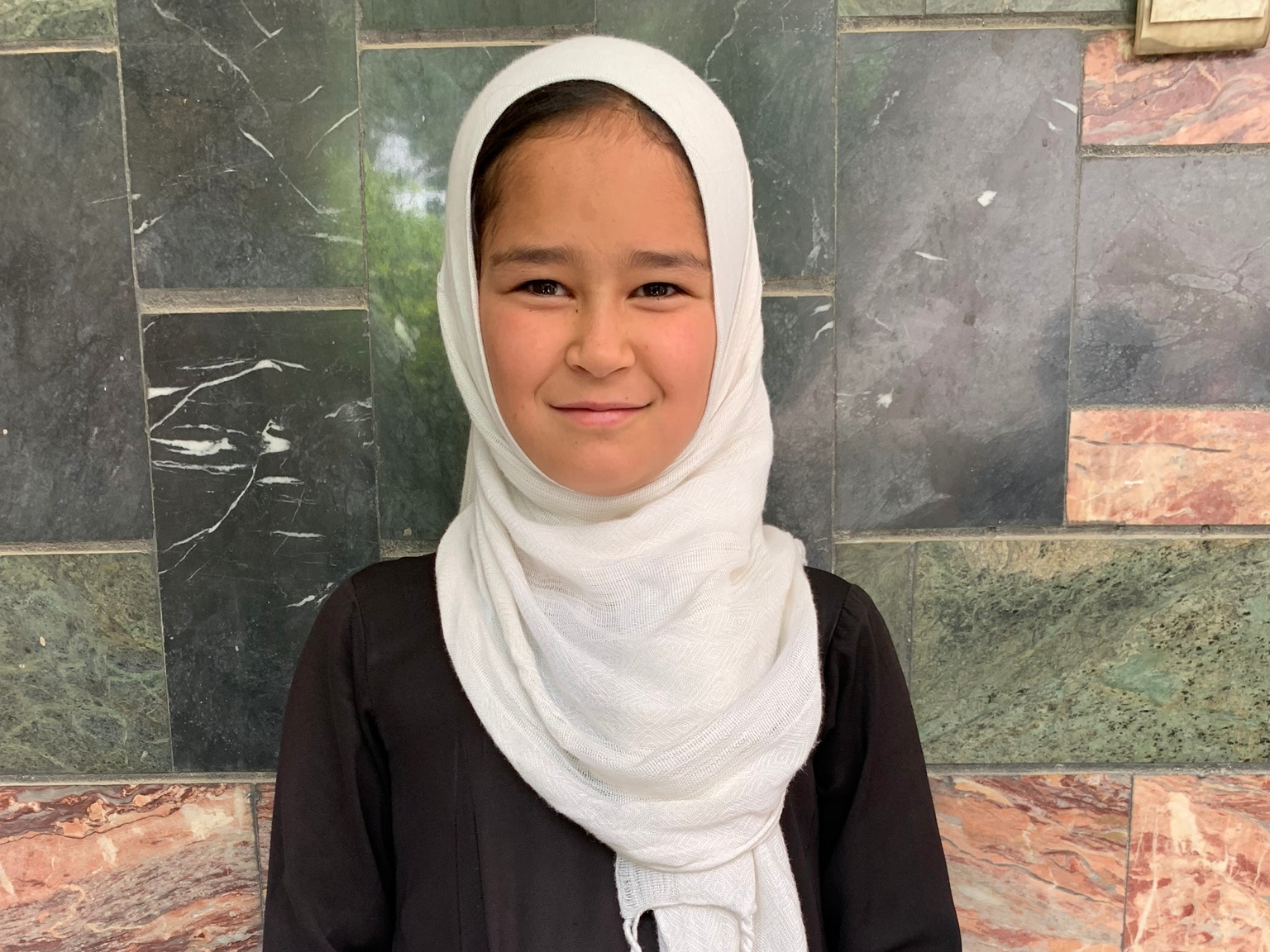 Frashta, Age 10 - Frashta has 7 siblings. Her mother is not employed at this time. Her father is a day laborer.BE FRASHTA'S PARTNER>