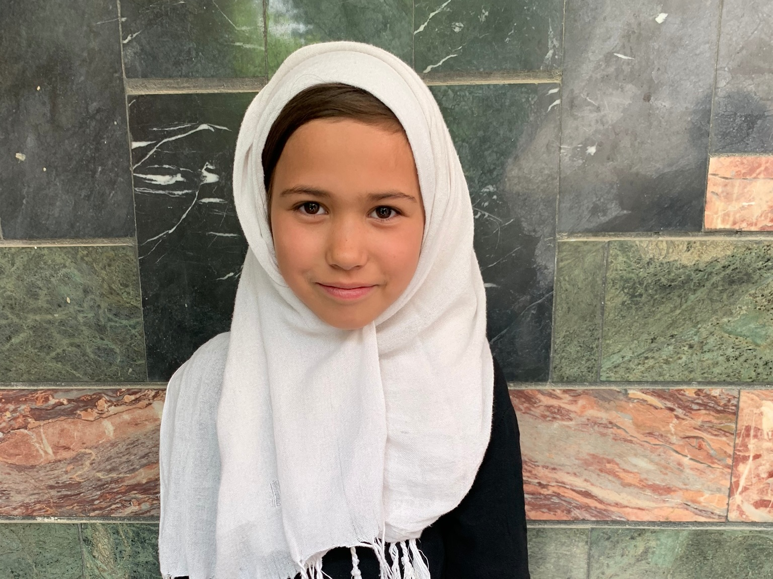 Tabian, Age 9 - Tabian has 5 siblings. Her mother is unemployed and her father is a cook.BE TABIAN'S PARTNER>