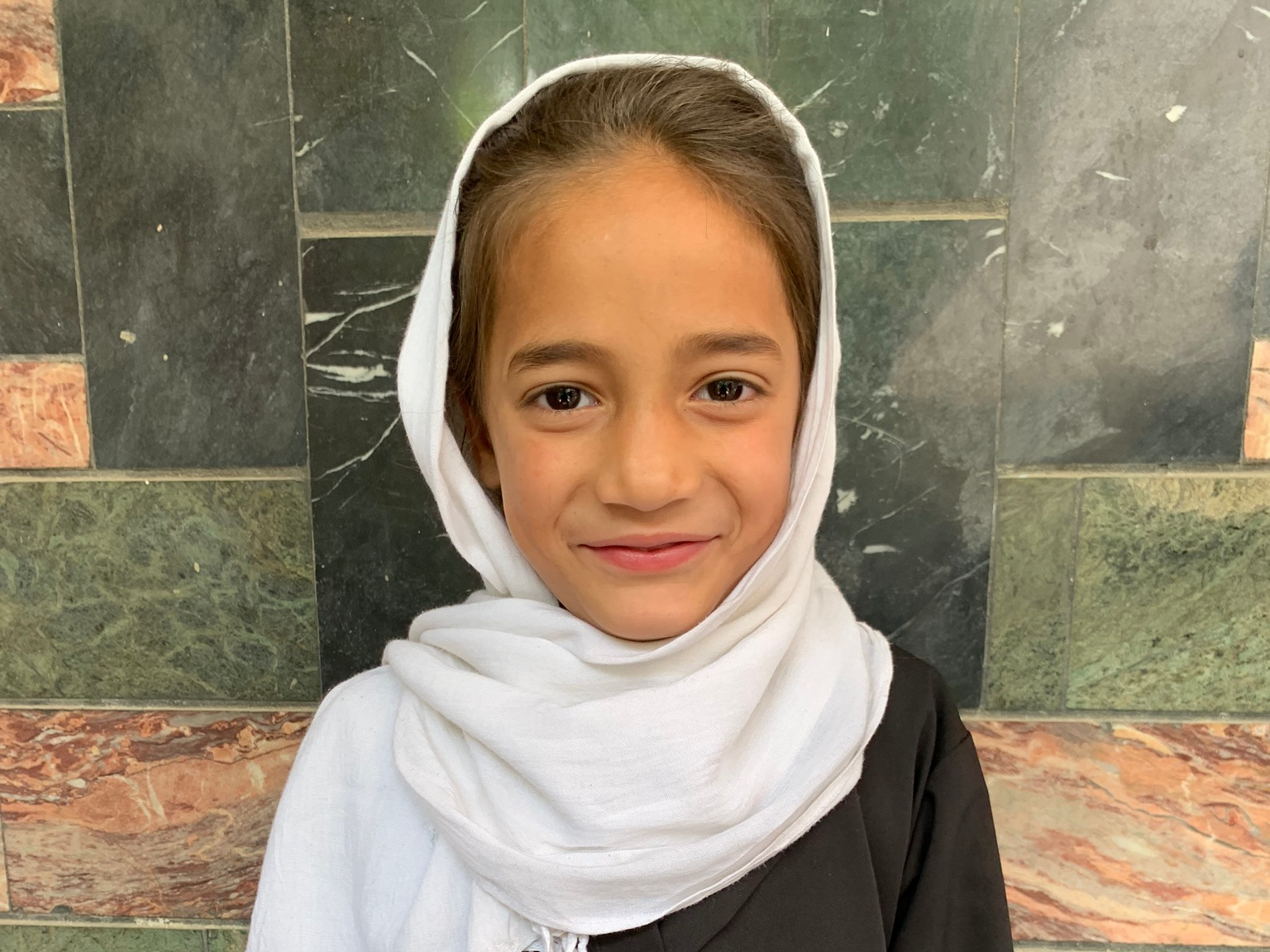 Farkunda, Age 7 - Farkunda has 5 siblings. Her mother does not have work at this time. Her father is a cook.BE FARKUNDA'S PARTNER>