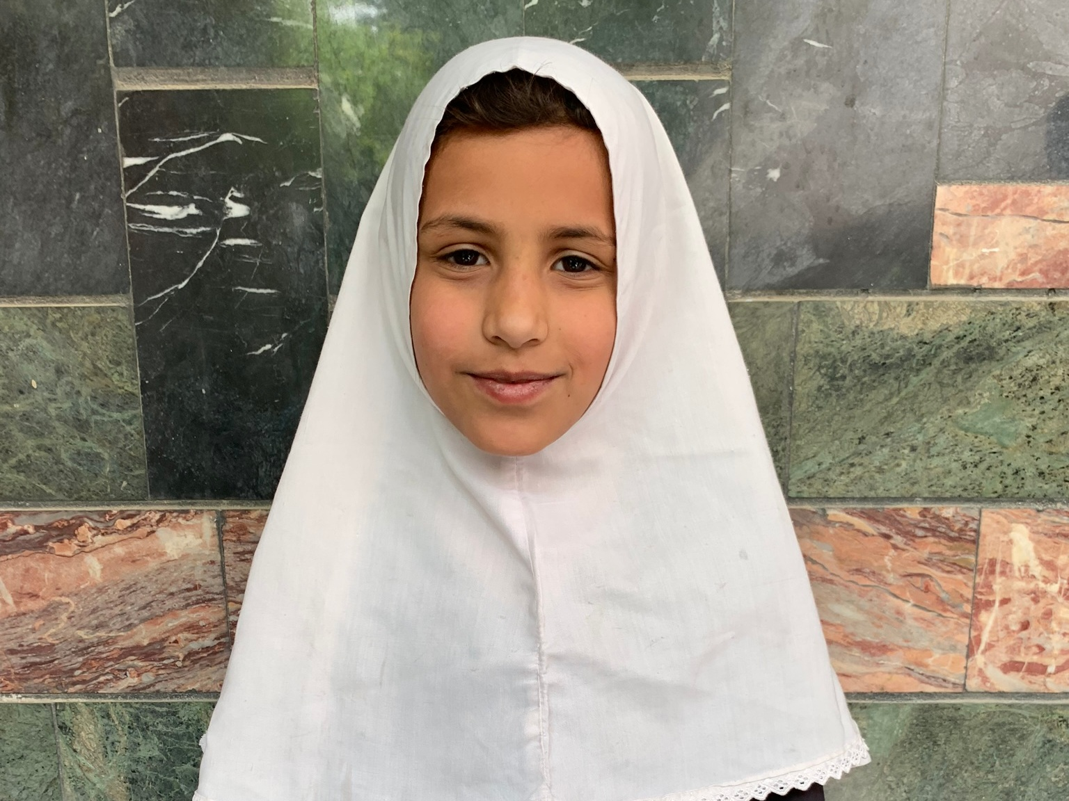 Samira, Age 9 - Samira has 7 siblings. Her mother does not have work at this time and her father is a shopkeeper.BE SAMIRA'S PARTNER>