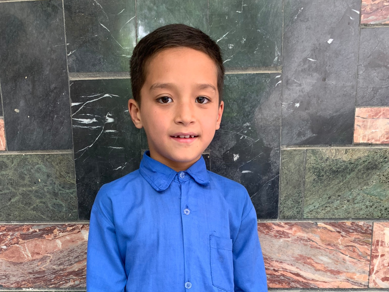 Ali Aliah, Age 9 - Ali Aliah has 5 siblings. His mother does not have work at this time. His father has died.BE ALI ALIAH'S PARTNER>∆