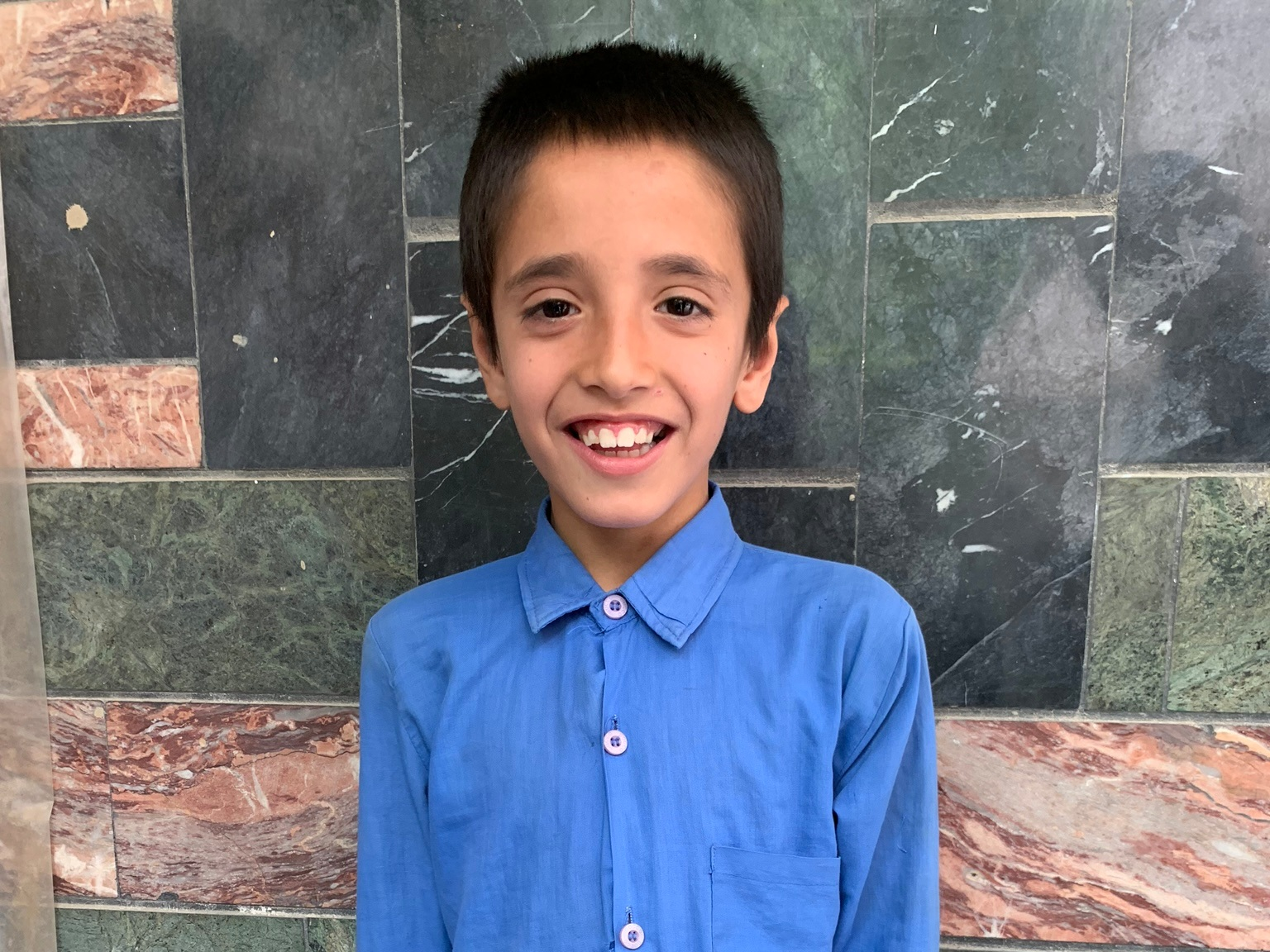 Nasrullah, Age 11 - Nasrullah has 6 siblings. His mother and father are both unemployed at this time.BE NASRULLAH'S PARTNER>