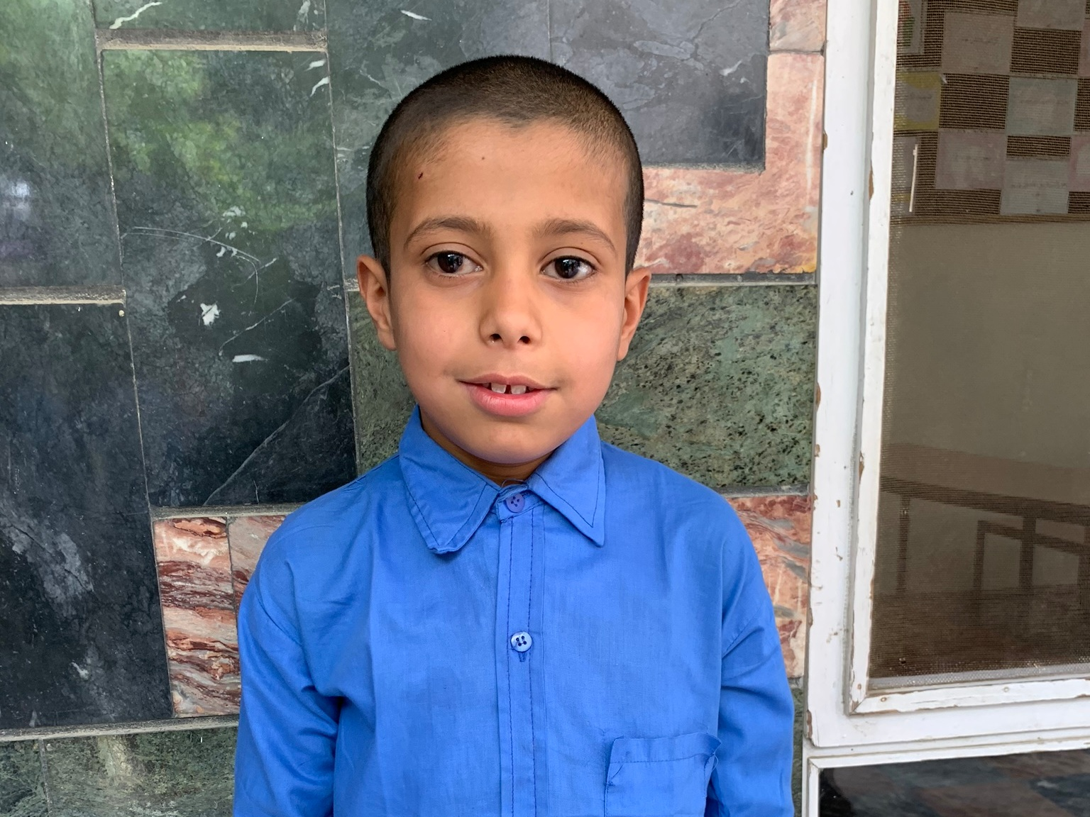 Mushta Hossein, Age 9 - Mushta Hossein has 5 siblings. His mother is a cleaner and his father is without work at this time.BE MUSHTA HOSSEIN'S PARTNER>