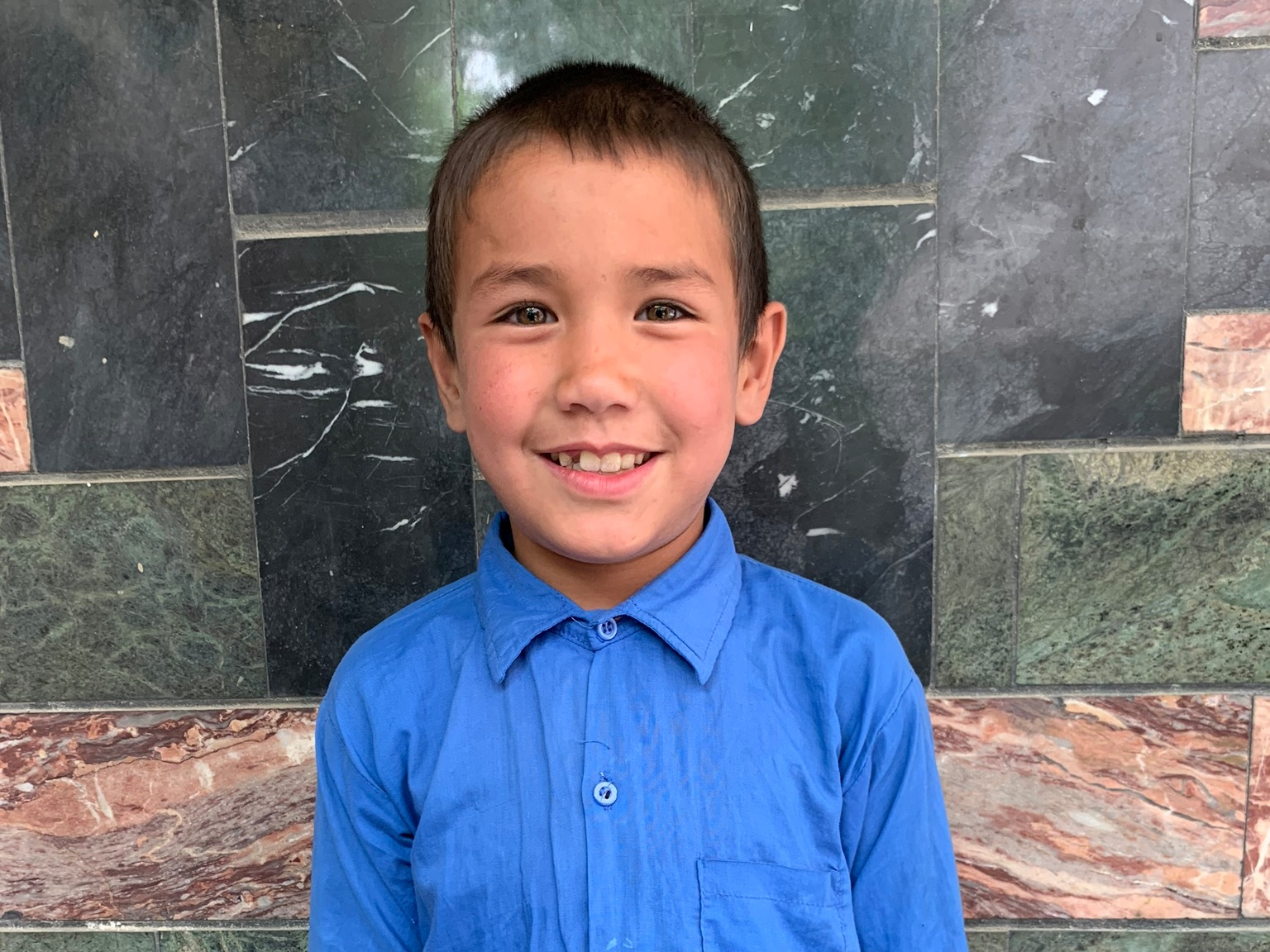 Mustafa, Age 9 - Mustafa has 2 siblings. His mother is without work and his father is a student of the Sozo Vocational Training School.BE MUSTAFA'S PARTNER>