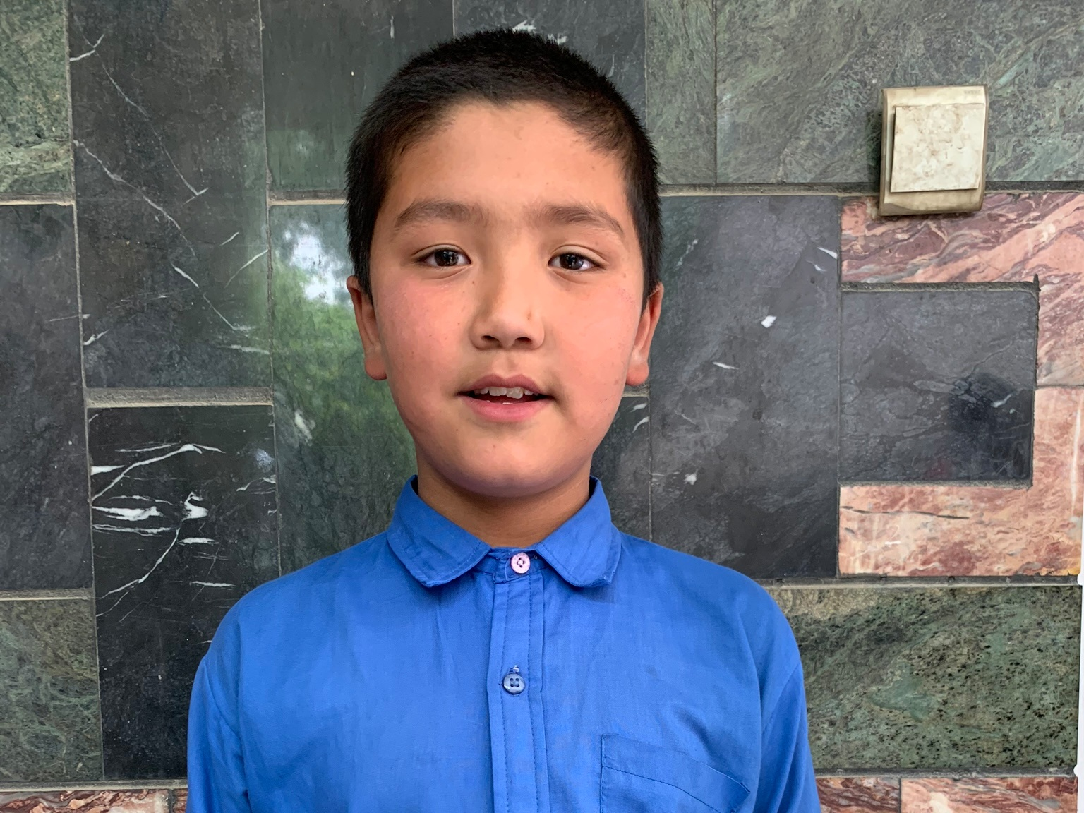 Mahdi, Age 9 - Mahdi has 1 sibling. His mother is unemployed. His father is a day laborer with a wheelbarrow.BE MAHDI'S PARTNER>