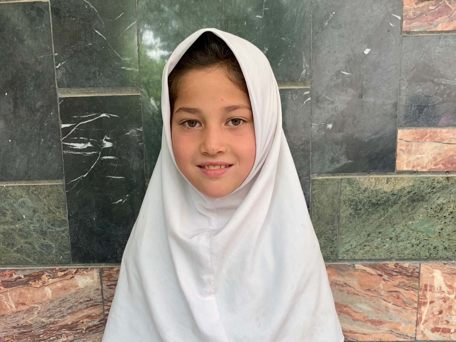 Sahar, Age 8 - Sahar has 4 siblings. Her mother doesn't have work at this time and her father is a day laborer.BE SAHAR'S PARTNER>