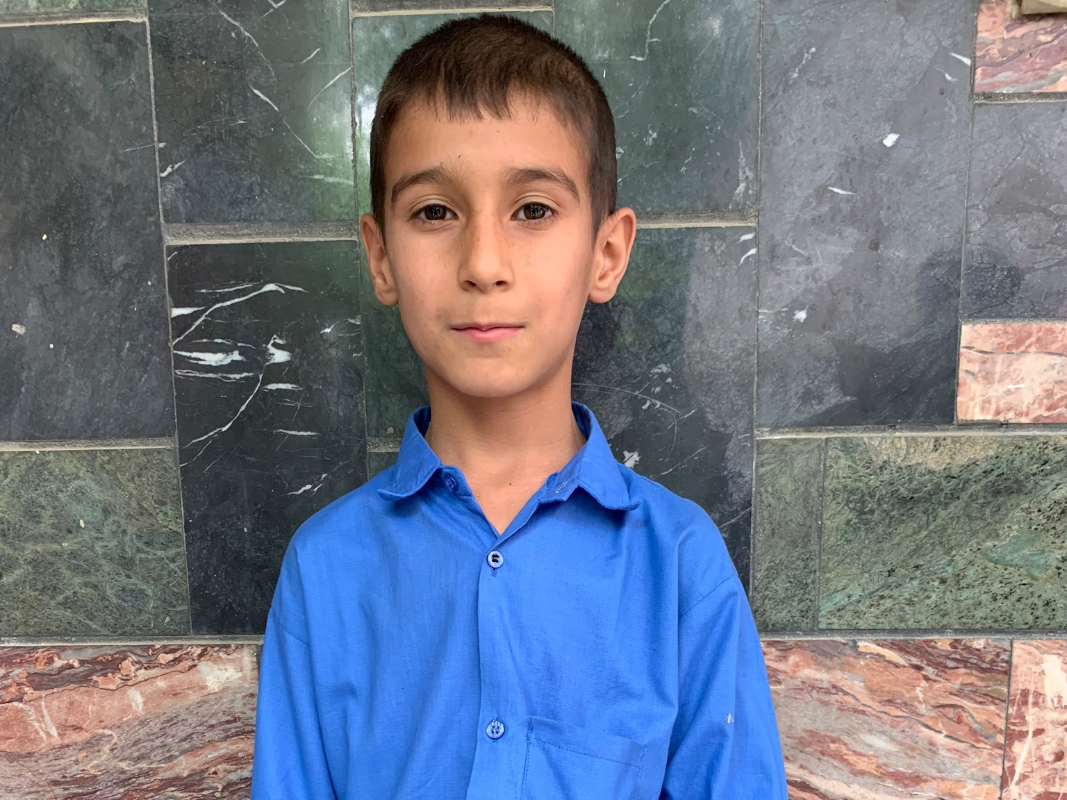 Seyd Riam, Age 9 - Seyd Riam has 5 siblings. His mother does not have work at this time and his father is a driver.BE SEYD RIAM'S PARTNER>