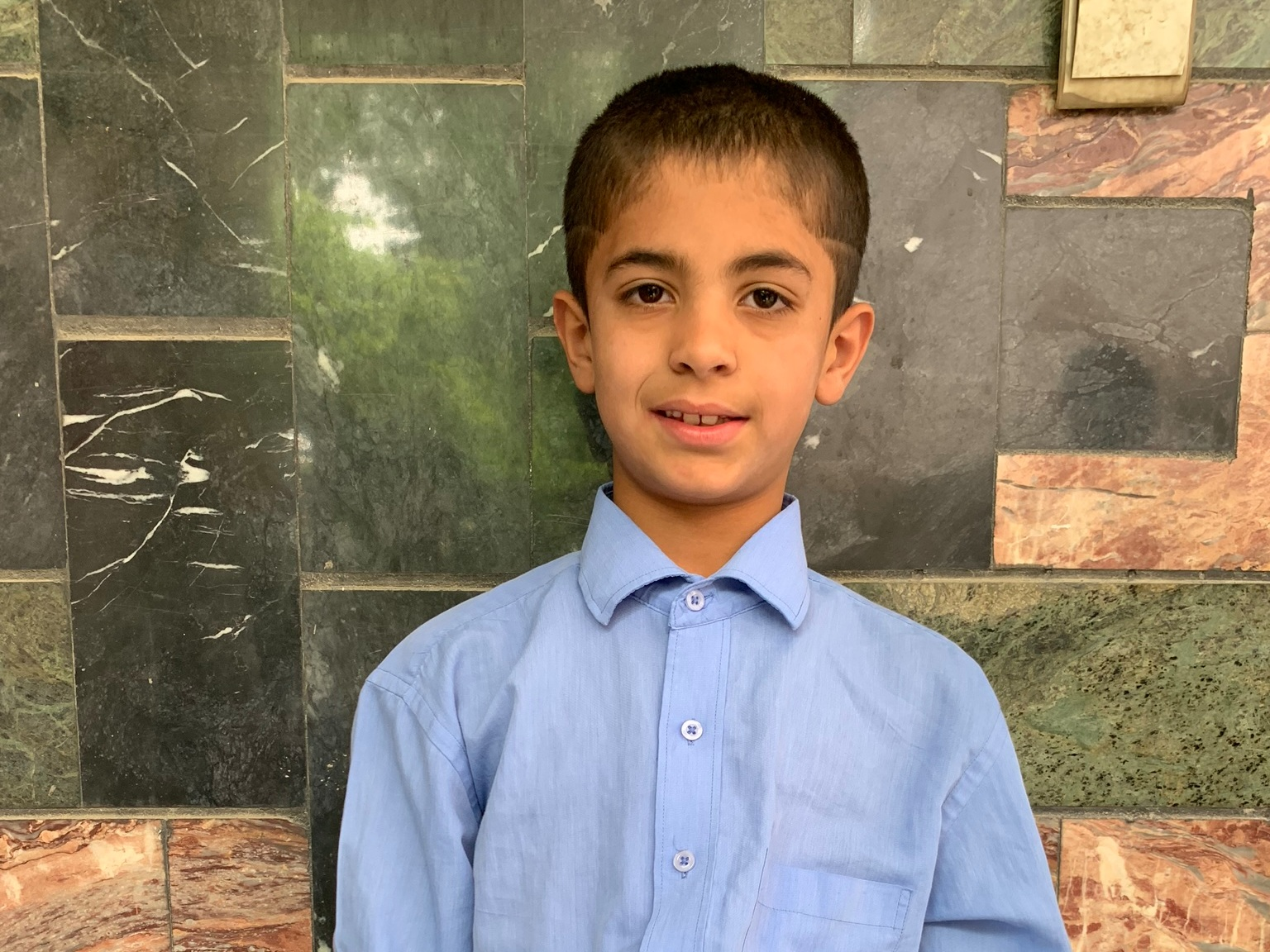 Aresh, Age 8 - Aresh has 3 siblings. His mother does not have work at this time. His father is a shopkeeper.BE ARESH'S PARTNER>