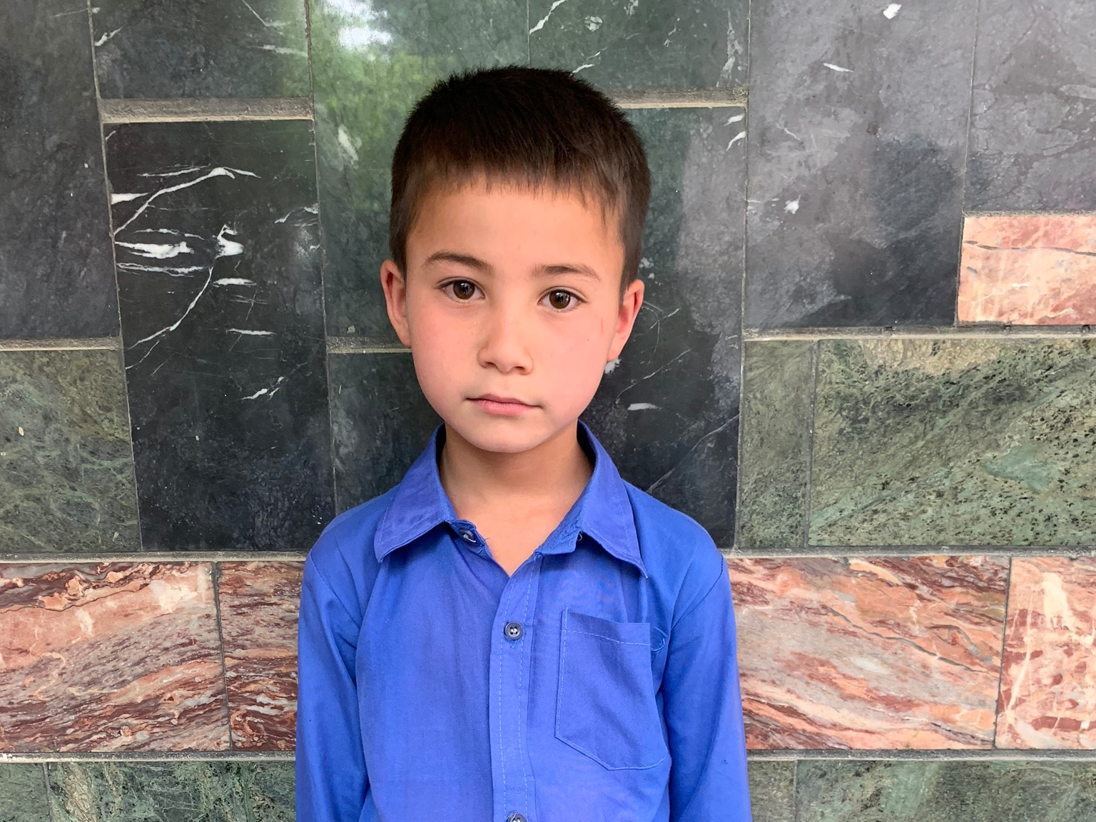 Ali Mushtaba, Age 10 - Ali Mushtaba has 5 siblings. His mother does not have work and his father is a shopkeeper.BE ALI MUSHTABA'S PARTNER>