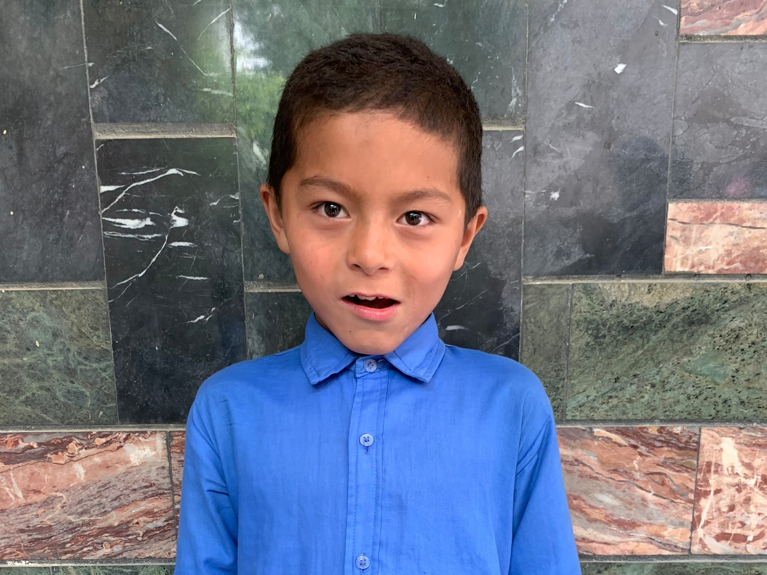 Mahdai, Age 10 - Mahdai has 2 siblings. His mother and father are both unemployed at this time.BE MAHDAI'S PARTNER>