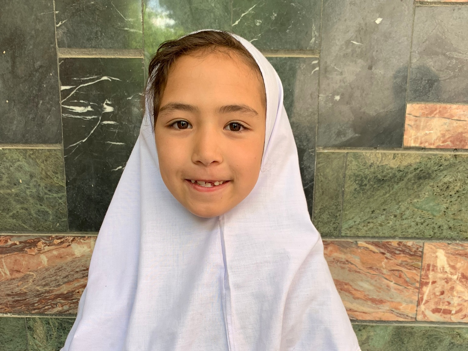 Marwa, Age 7 - Marwa has 4 siblings. Her mother is unemployed. Her father is a shopkeeper.BE MARWA'S PARTNER>