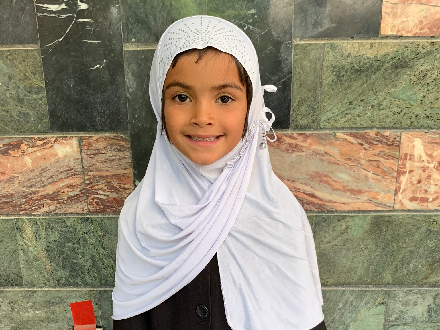 Shukria, Age 7 - Shukria has 7 siblings. Her mother is unemployed. Her father is a shopkeeper.BE SHUKRIA'S PARTNER>